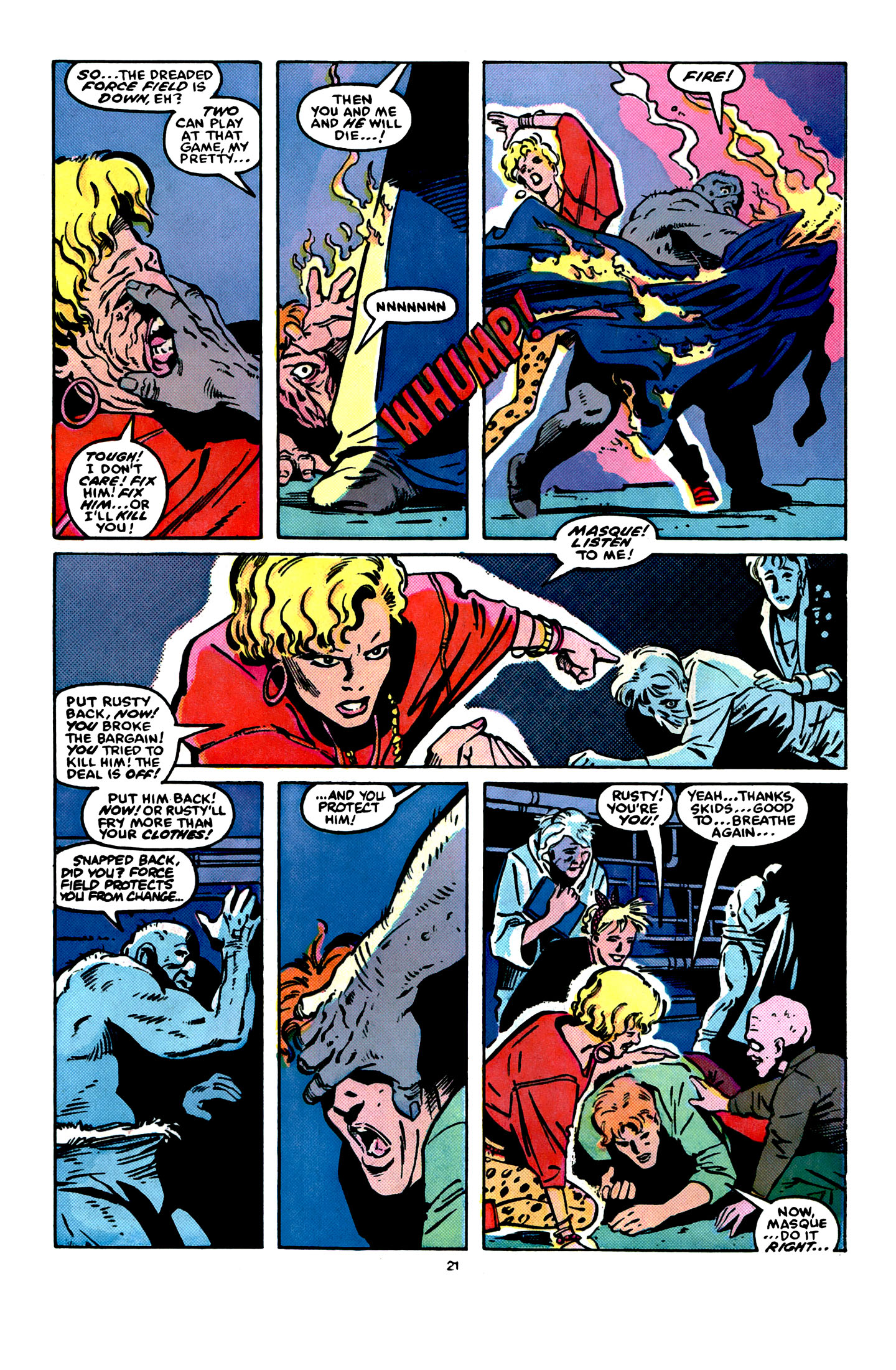 Read online X-Factor (1986) comic -  Issue #16 - 22