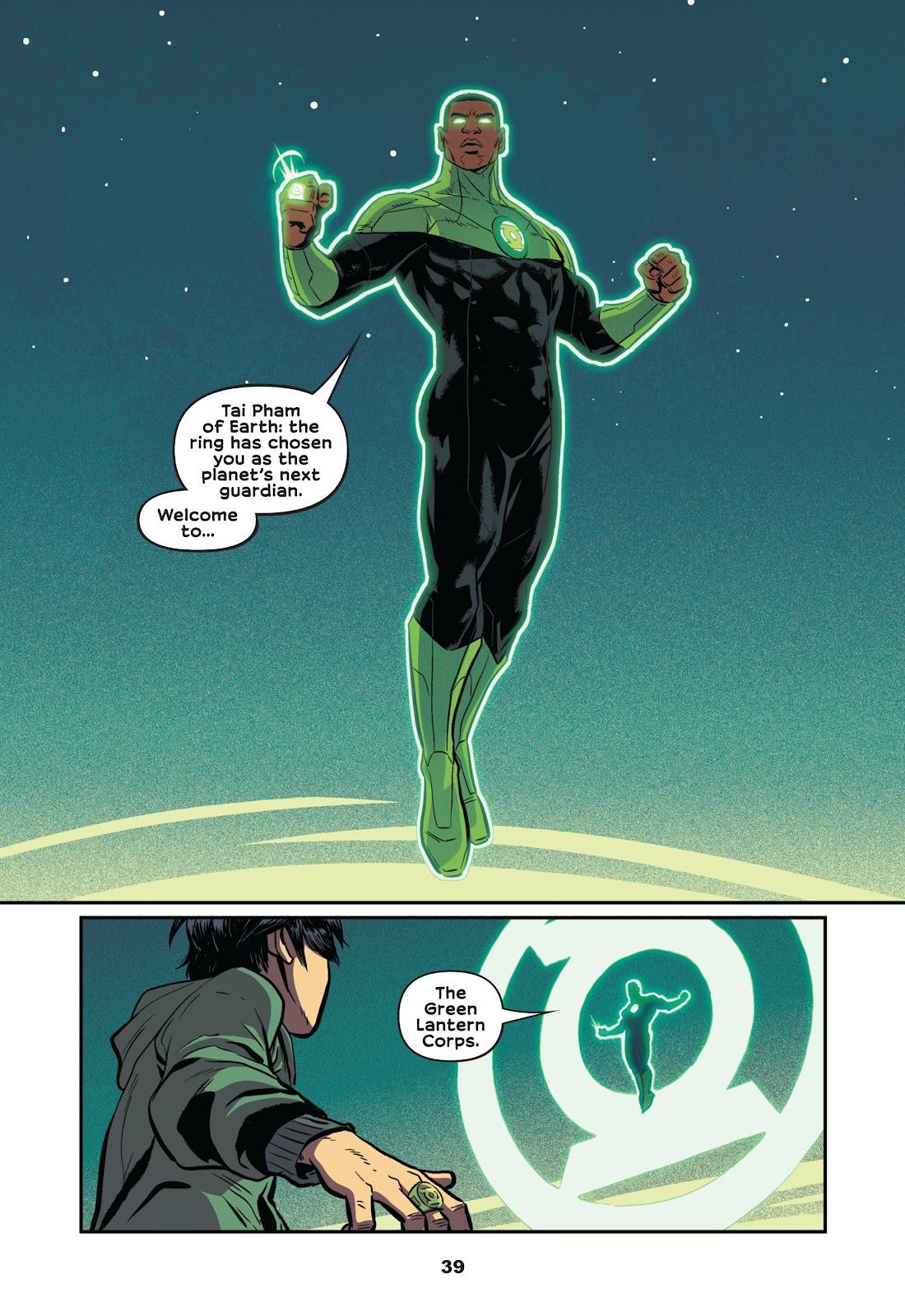 Read online Green Lantern: Legacy comic -  Issue # TPB - 37