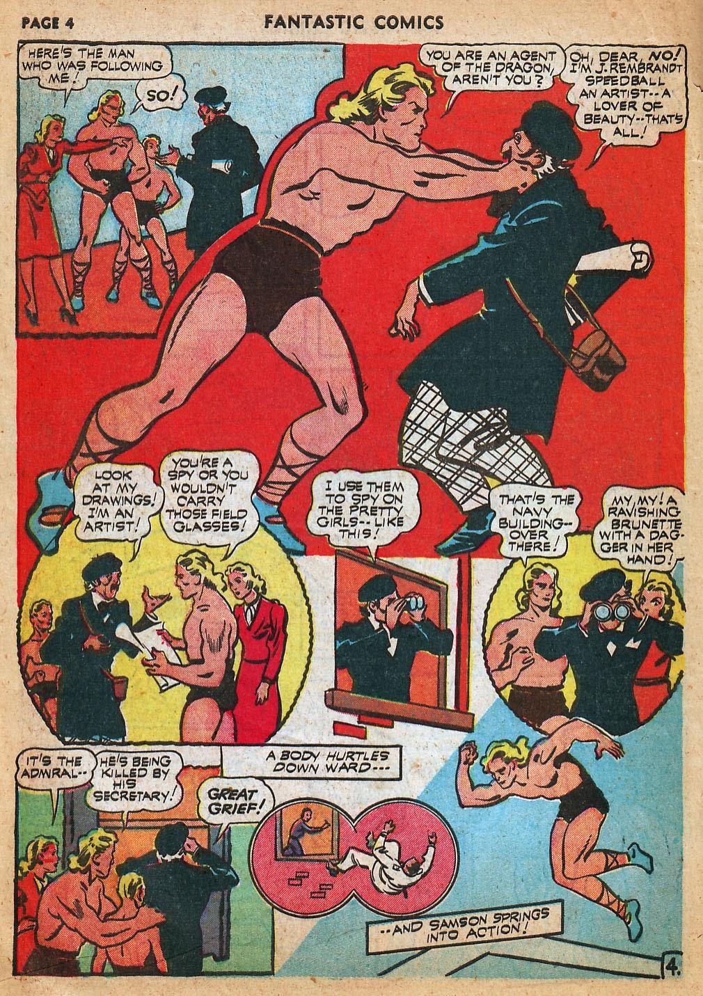 Read online Fantastic Comics comic -  Issue #22 - 6