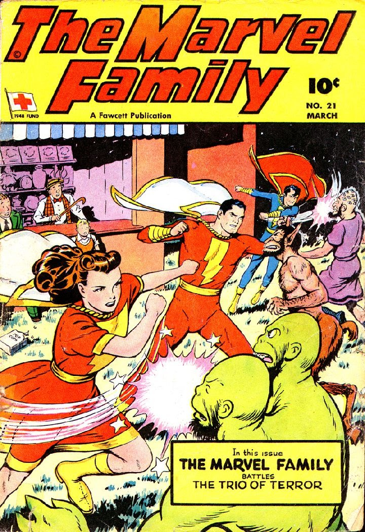 The Marvel Family 21 Page 1