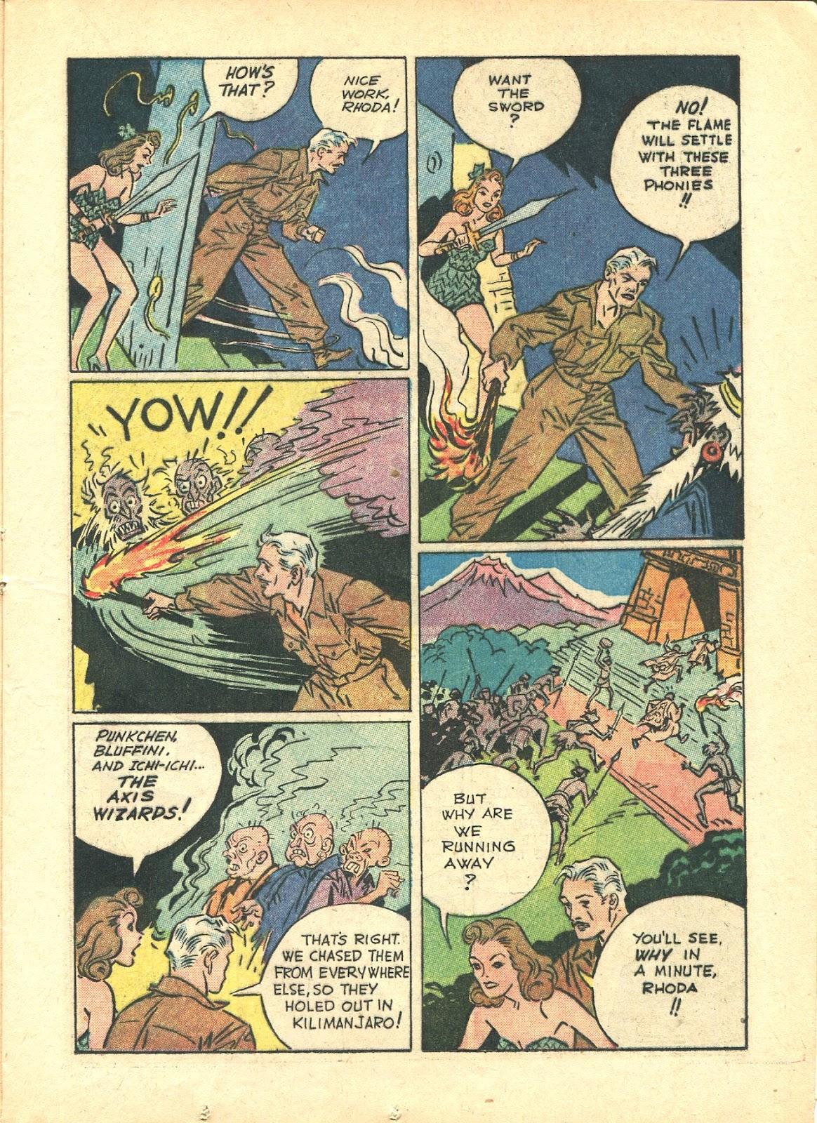 Read online Super-Magician Comics comic -  Issue #21 - 25