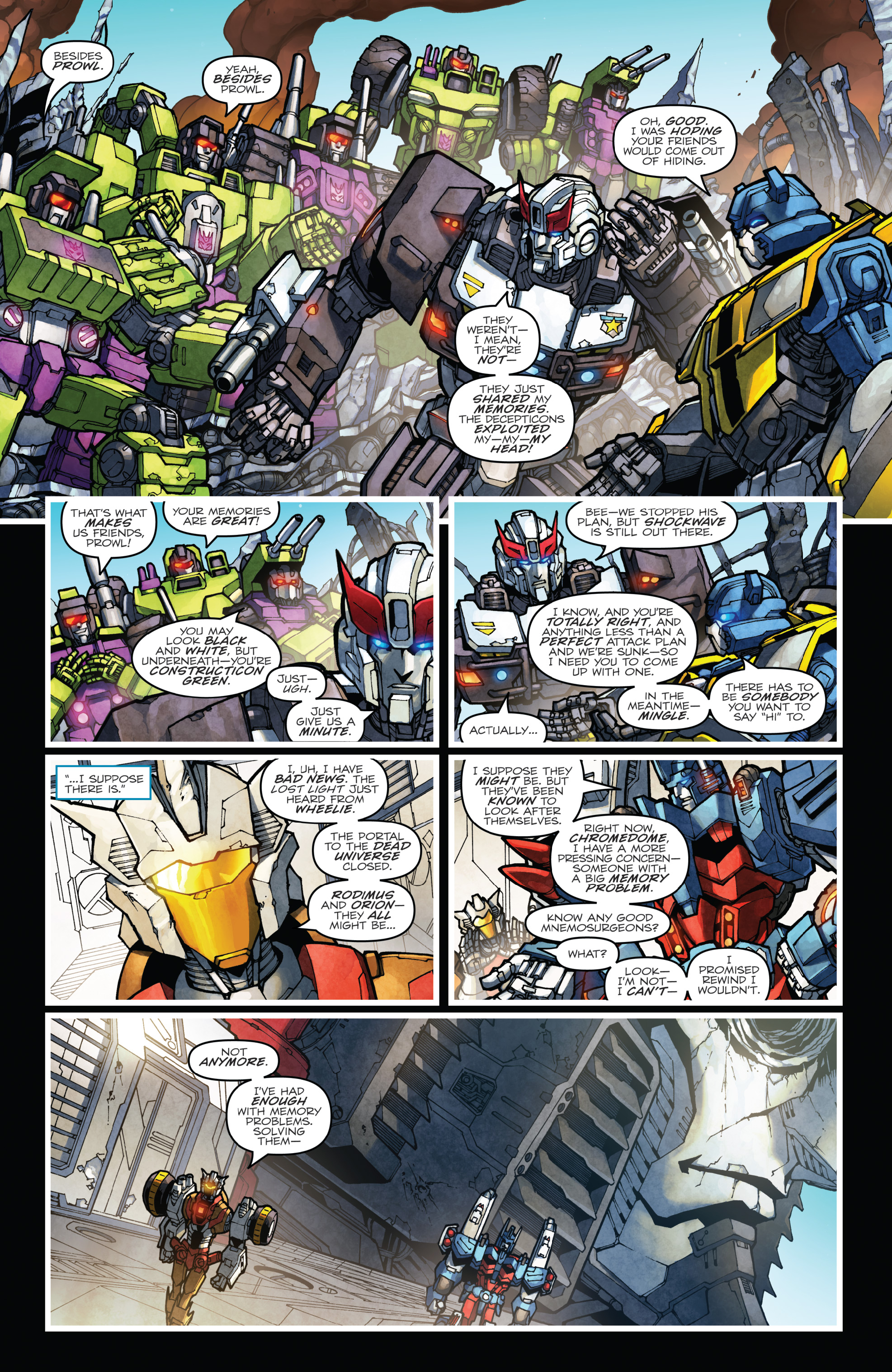 Read online The Transformers: Dark Cybertron Finale comic -  Issue # Full - 83