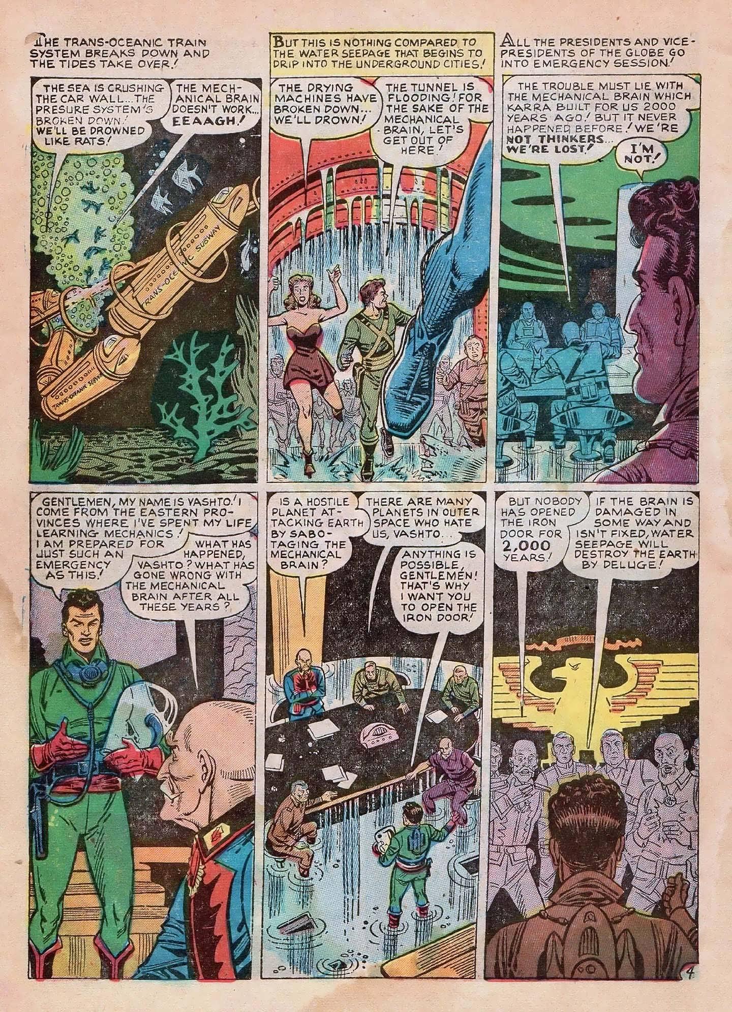 Read online Adventures into Weird Worlds comic -  Issue #2 - 6