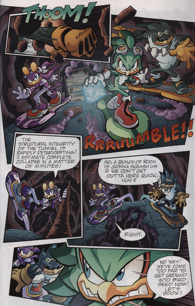 Read online Sonic Universe comic -  Issue #33 - 29