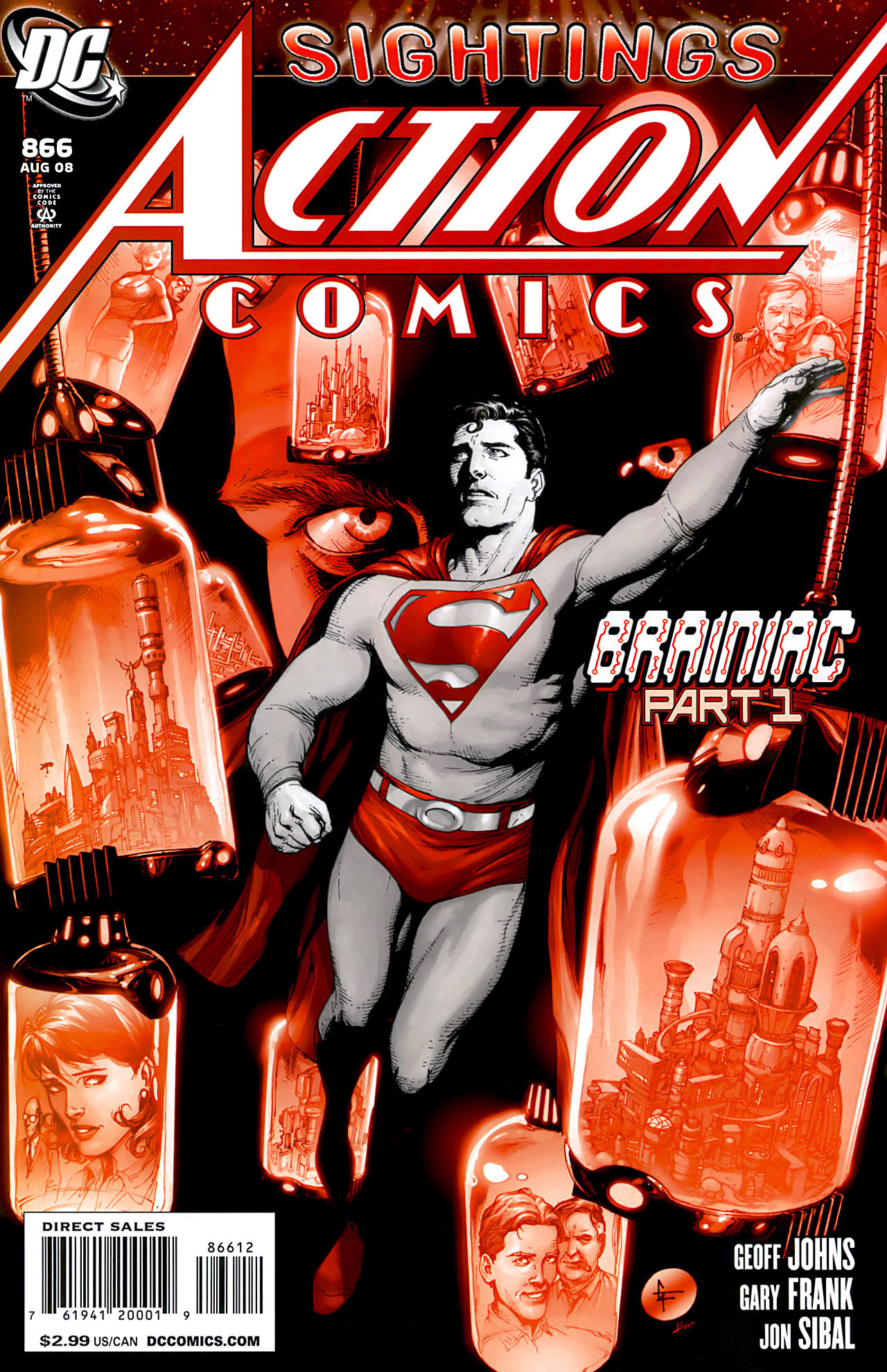 Read online Action Comics (1938) comic -  Issue #866 - 1