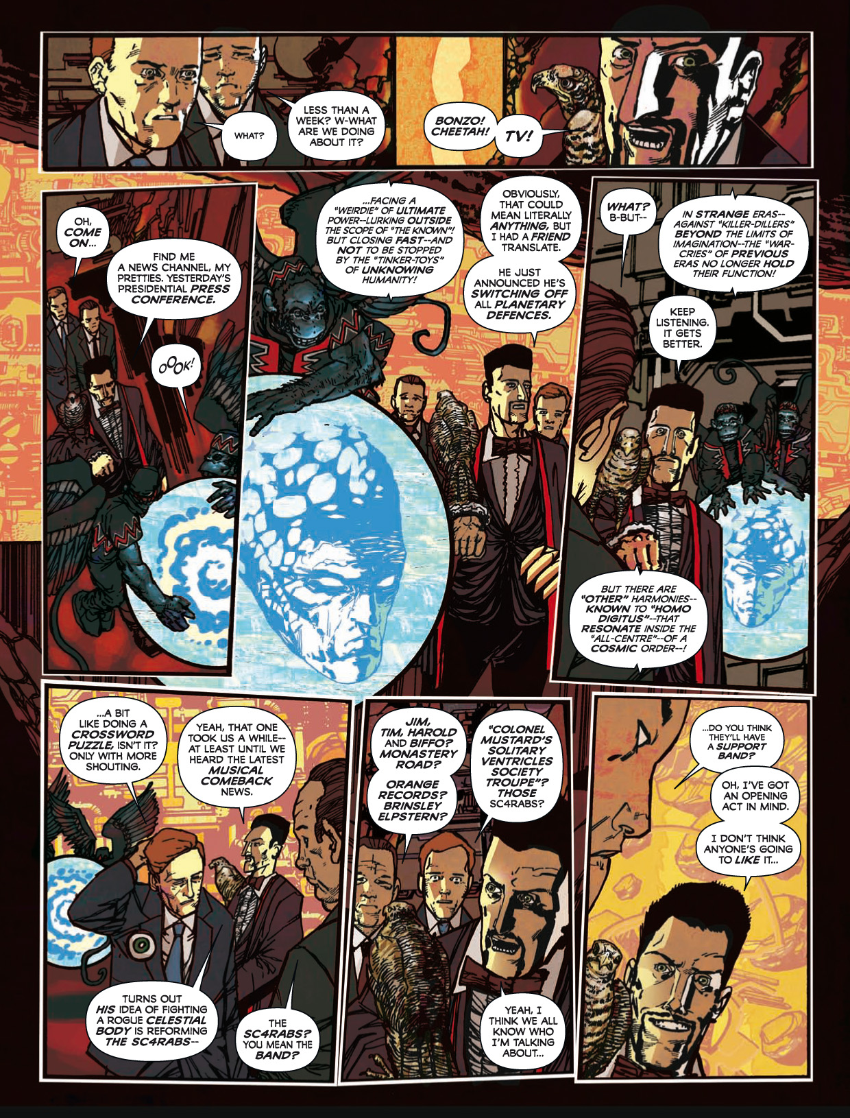 Read online 2000 AD comic -  Issue #1746 - 143