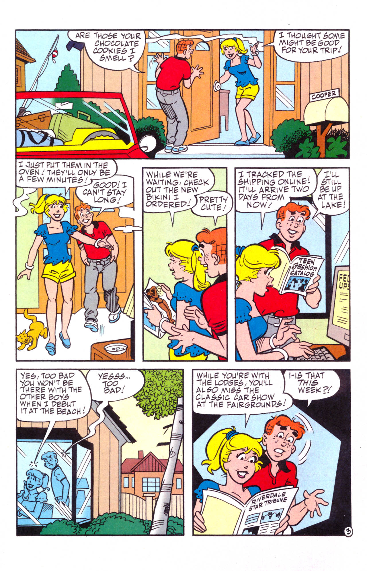 Read online Archie (1960) comic -  Issue #576 - 23
