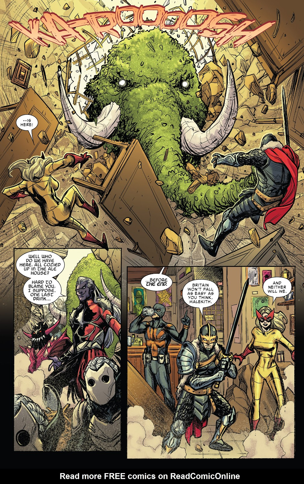 Read online War of the Realms Strikeforce: The War Avengers comic -  Issue # Full - 24