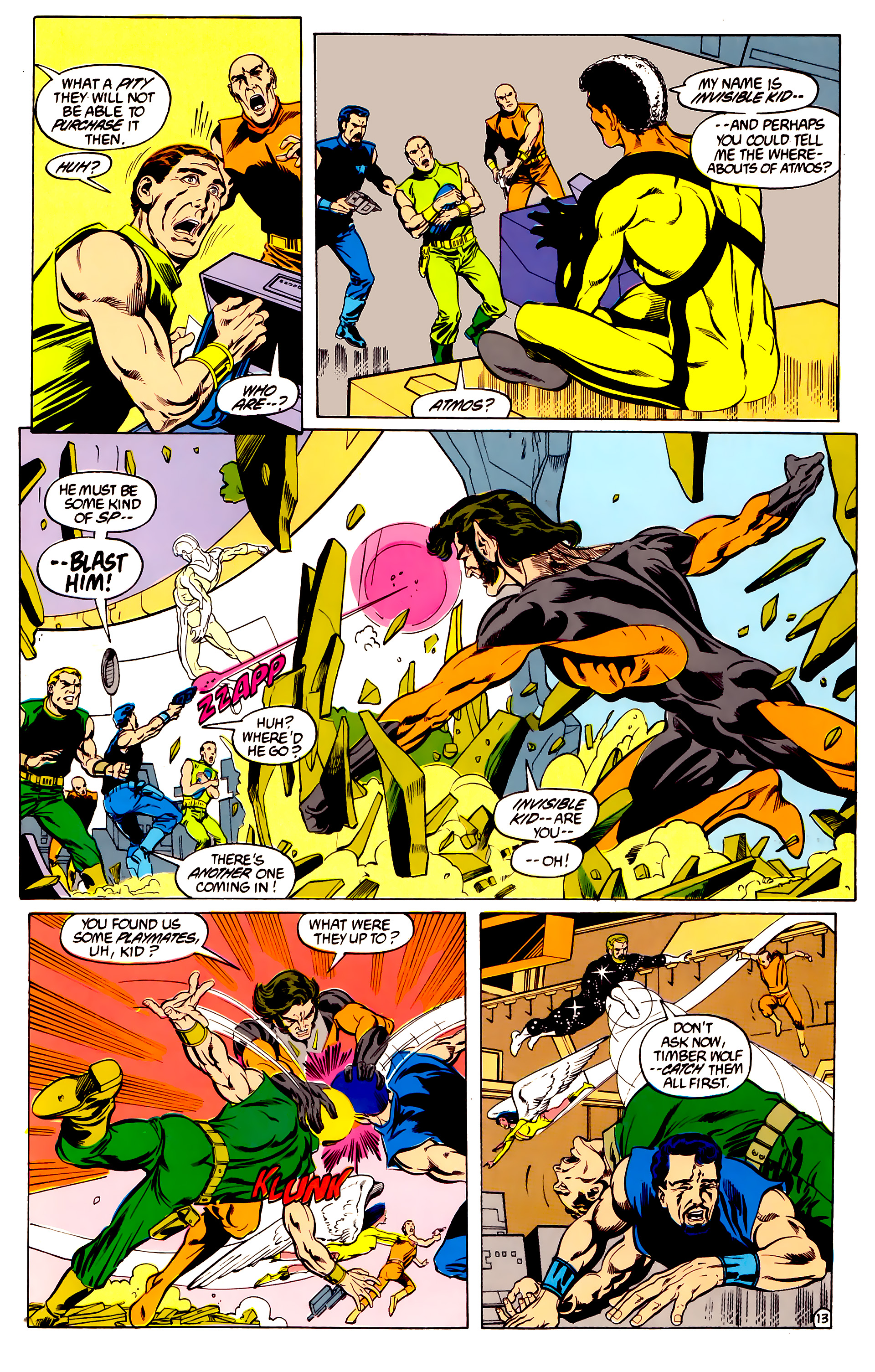Legion of Super-Heroes (1984) 28 Page 14