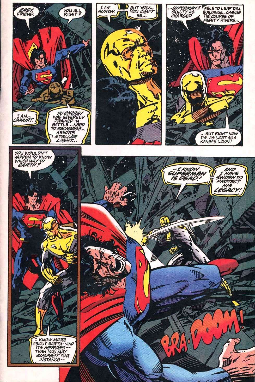 Read online Adventures of Superman (1987) comic -  Issue #509 - 11