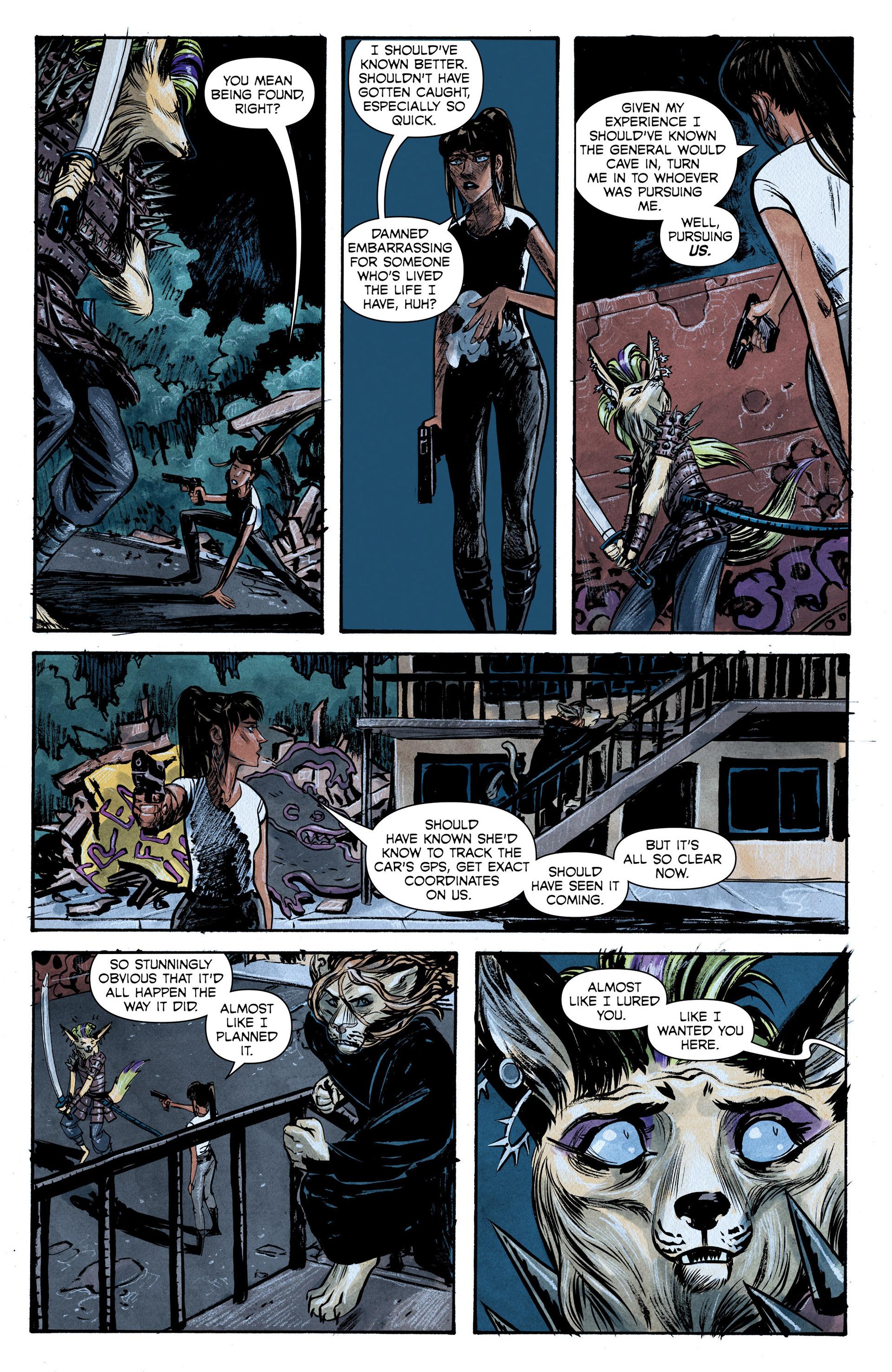 Read online Shutter comic -  Issue #6 - 14