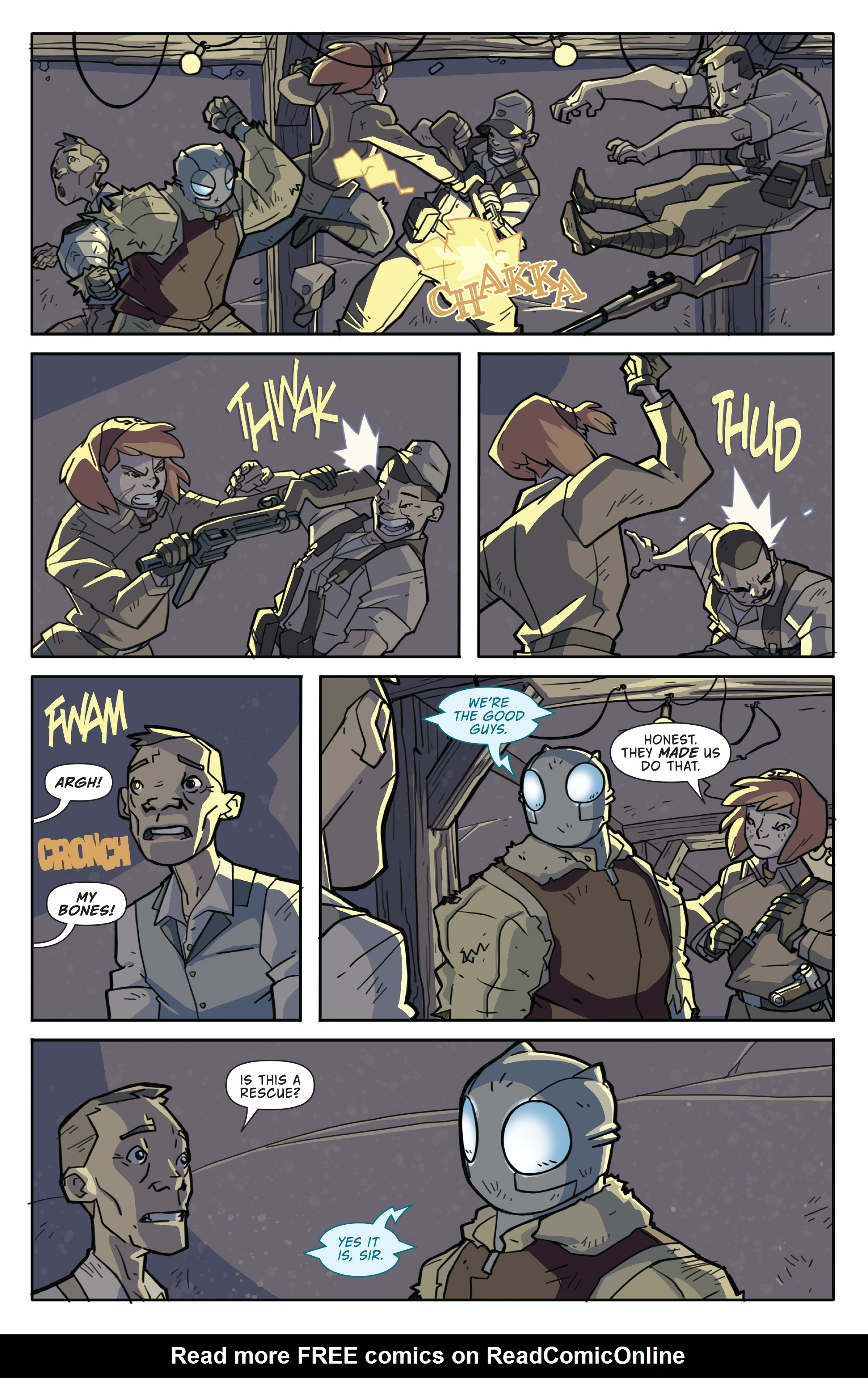 Read online Atomic Robo and the Temple of Od comic -  Issue #2 - 15