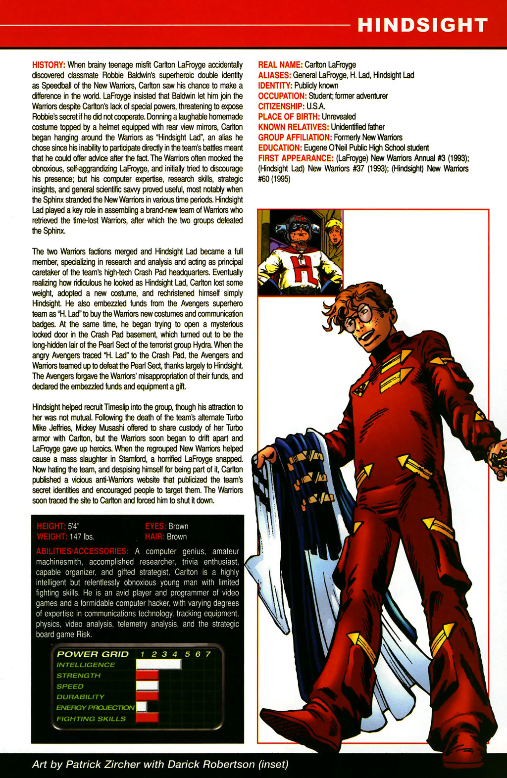 Read online All-New Official Handbook of the Marvel Universe A to Z comic -  Issue #5 - 29