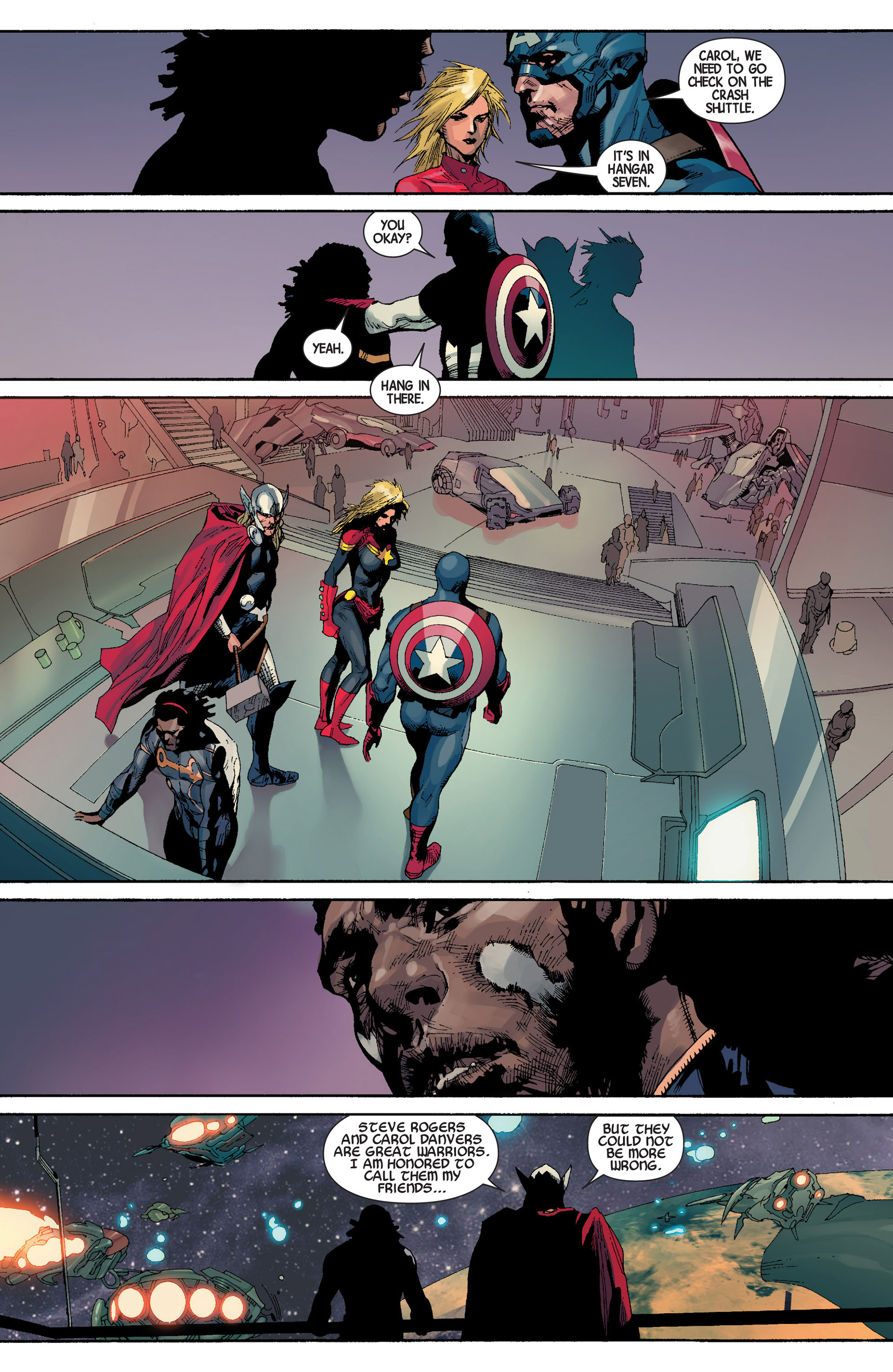 Read online Avengers (2013) comic -  Issue #22 - 23