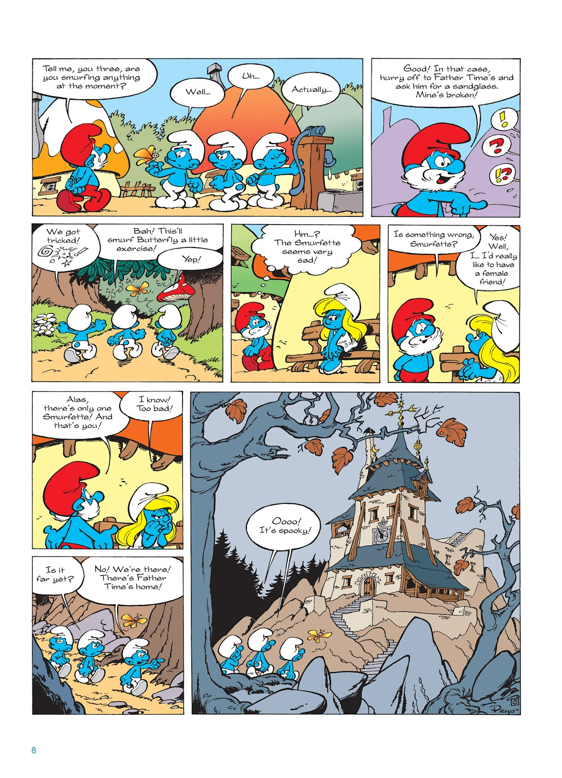 Read online The Smurfs comic -  Issue #15 - 9