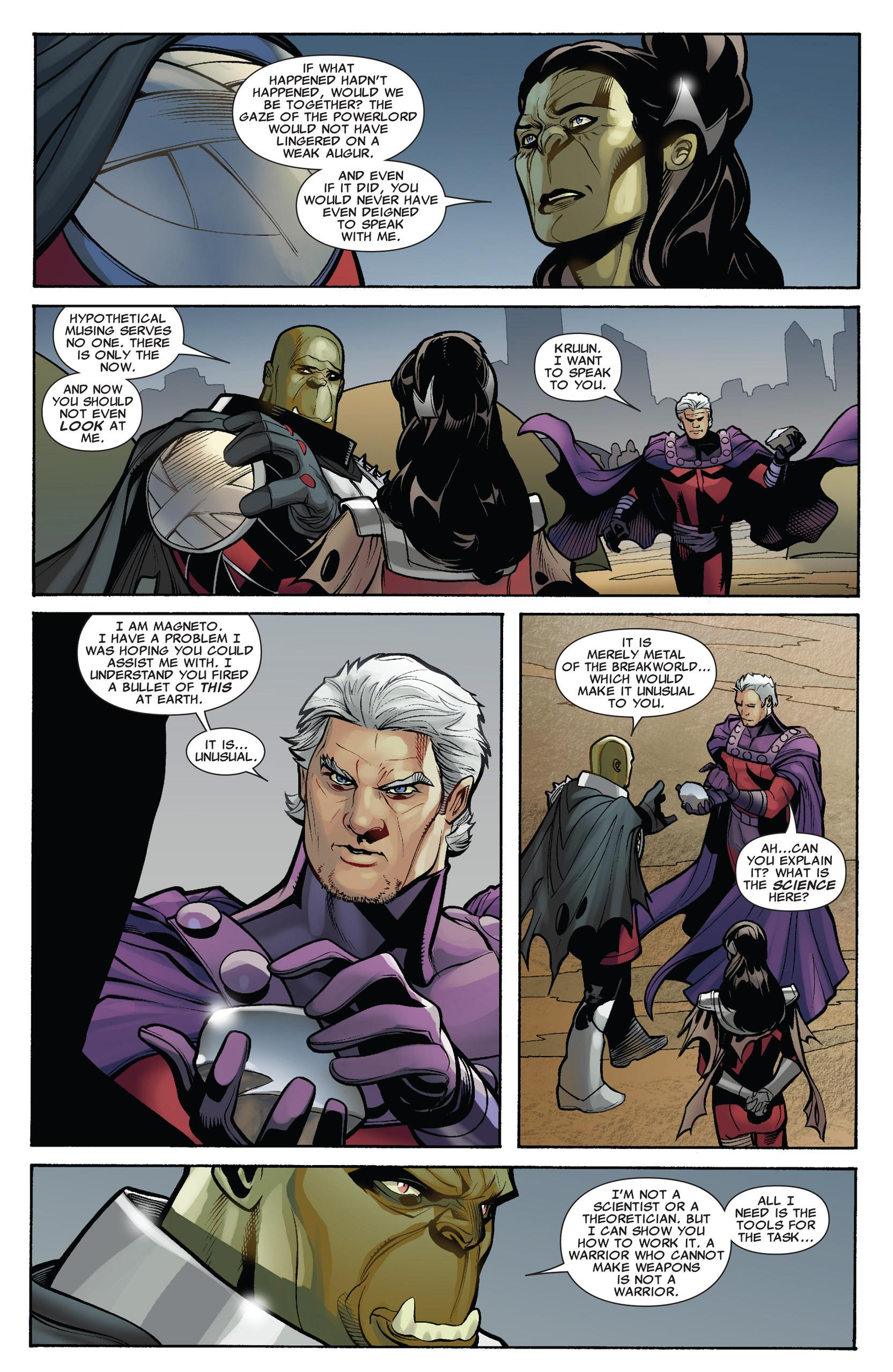 Read online Uncanny X-Men (1963) comic -  Issue #536 - 16