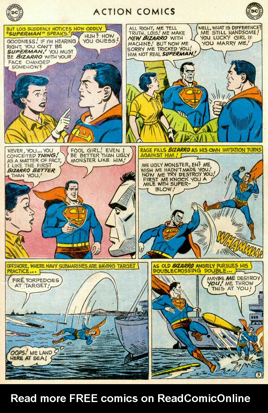 Read online Action Comics (1938) comic -  Issue #255 - 5