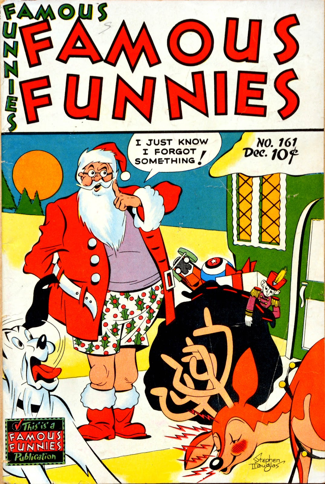 Read online Famous Funnies comic -  Issue #161 - 1