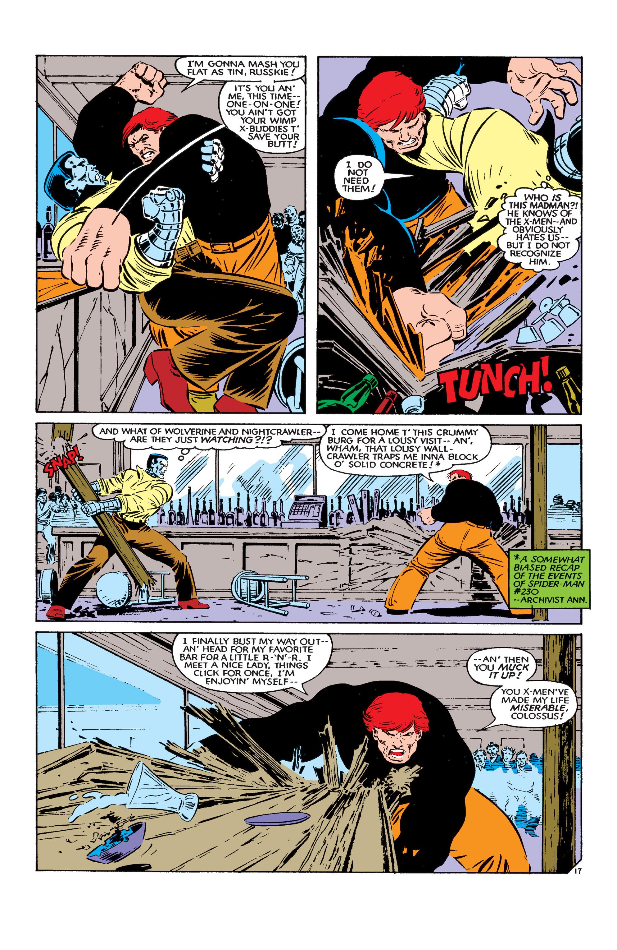 Read online Uncanny X-Men (1963) comic -  Issue #183 - 18