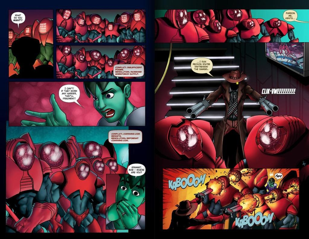 Read online ReBoot: Paradigms Lost comic -  Issue # Full - 26