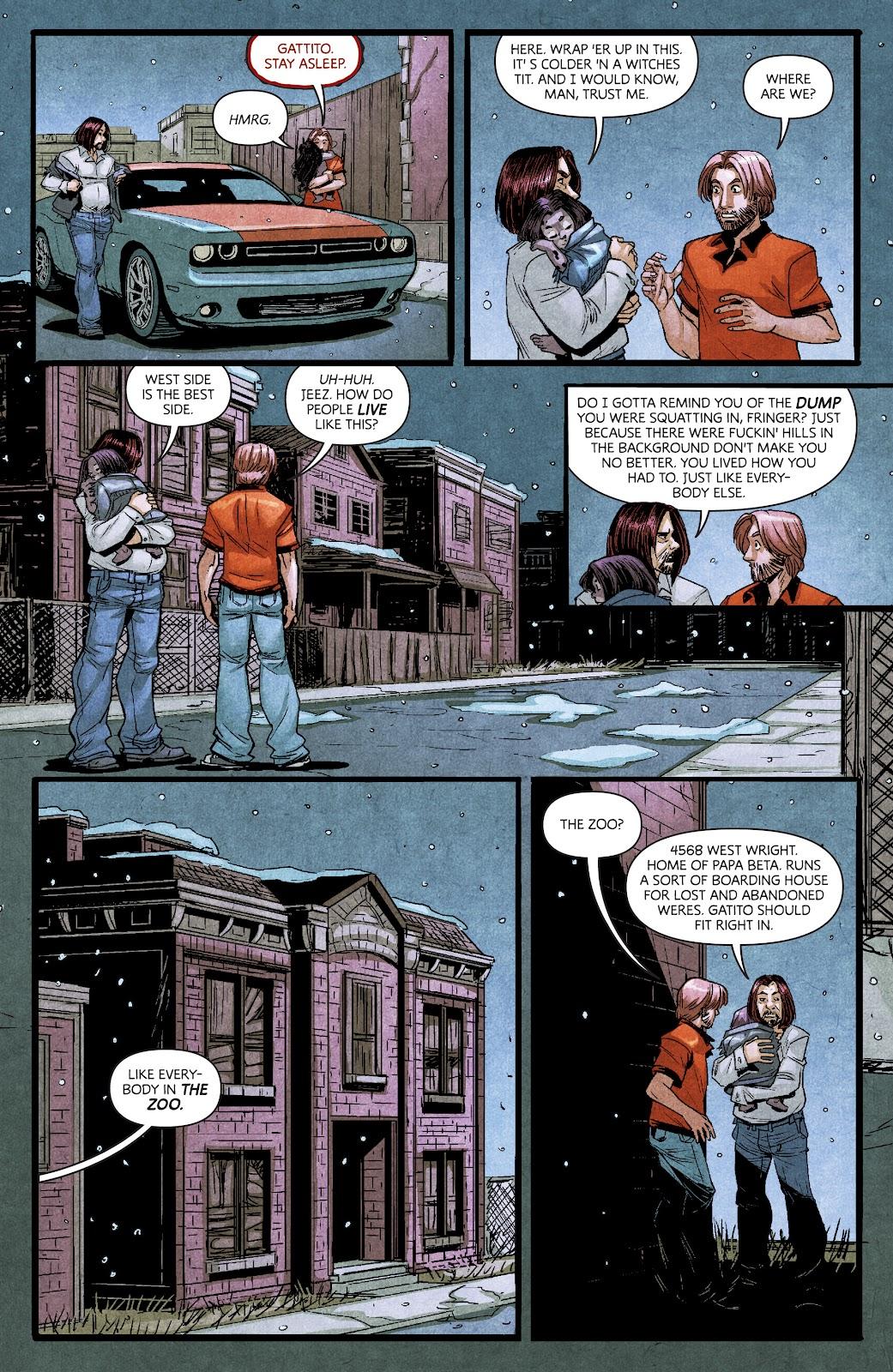 Read online Dark Red comic -  Issue #7 - 17