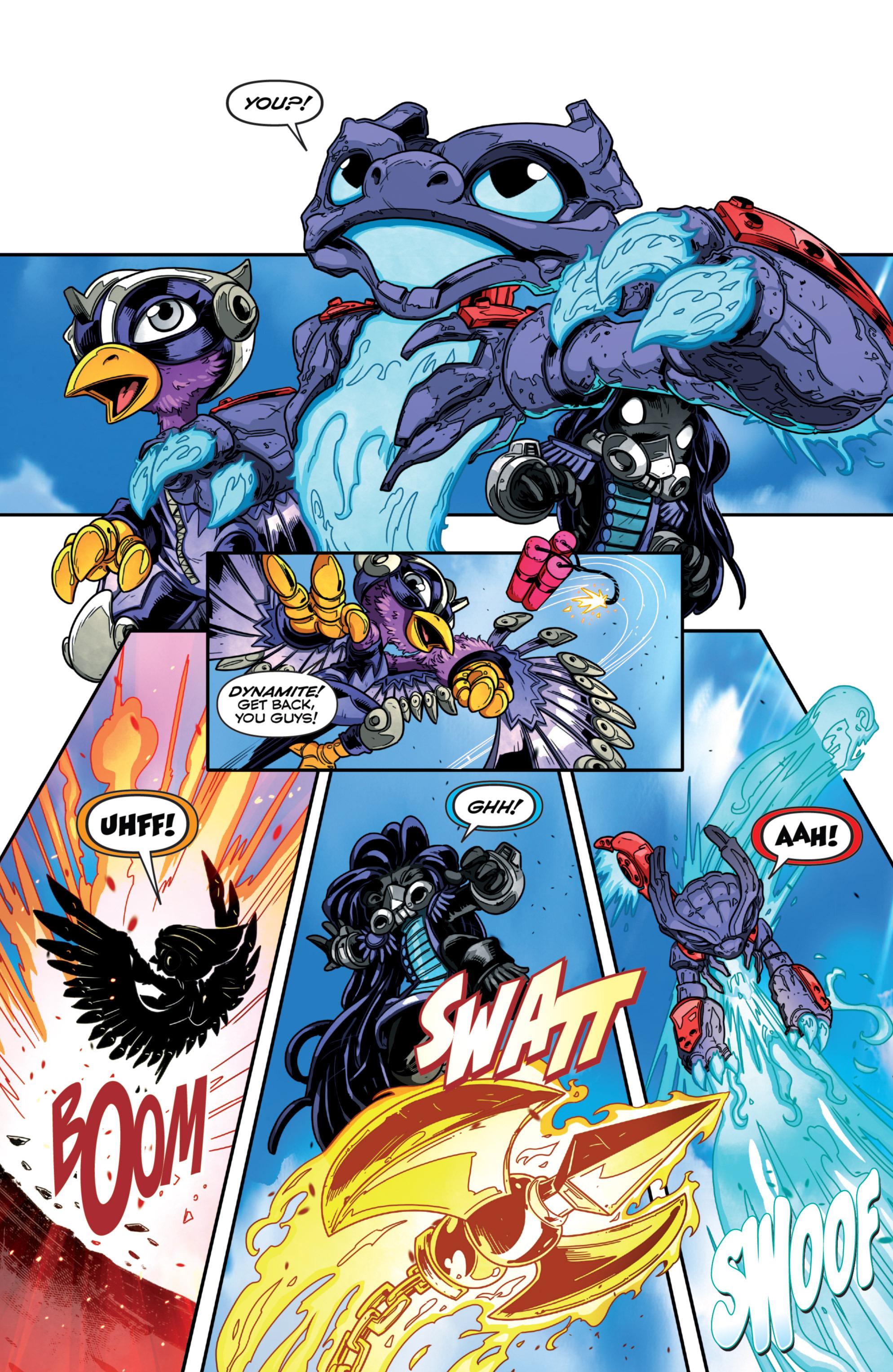 Read online Skylanders Superchargers comic -  Issue #1 - 18