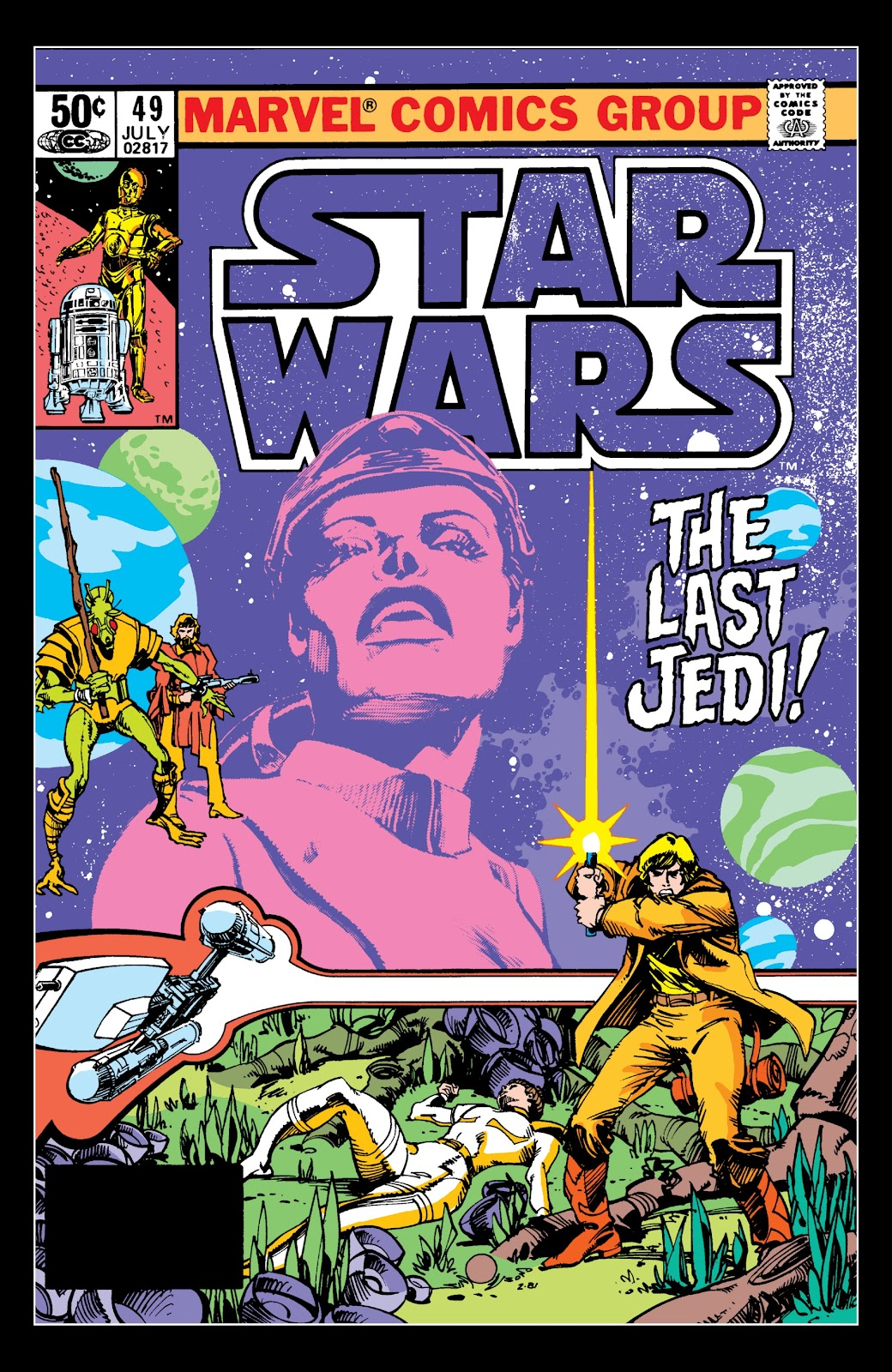 Read online Star Wars Legends: The Original Marvel Years - Epic Collection comic -  Issue # TPB 3 (Part 3) - 5