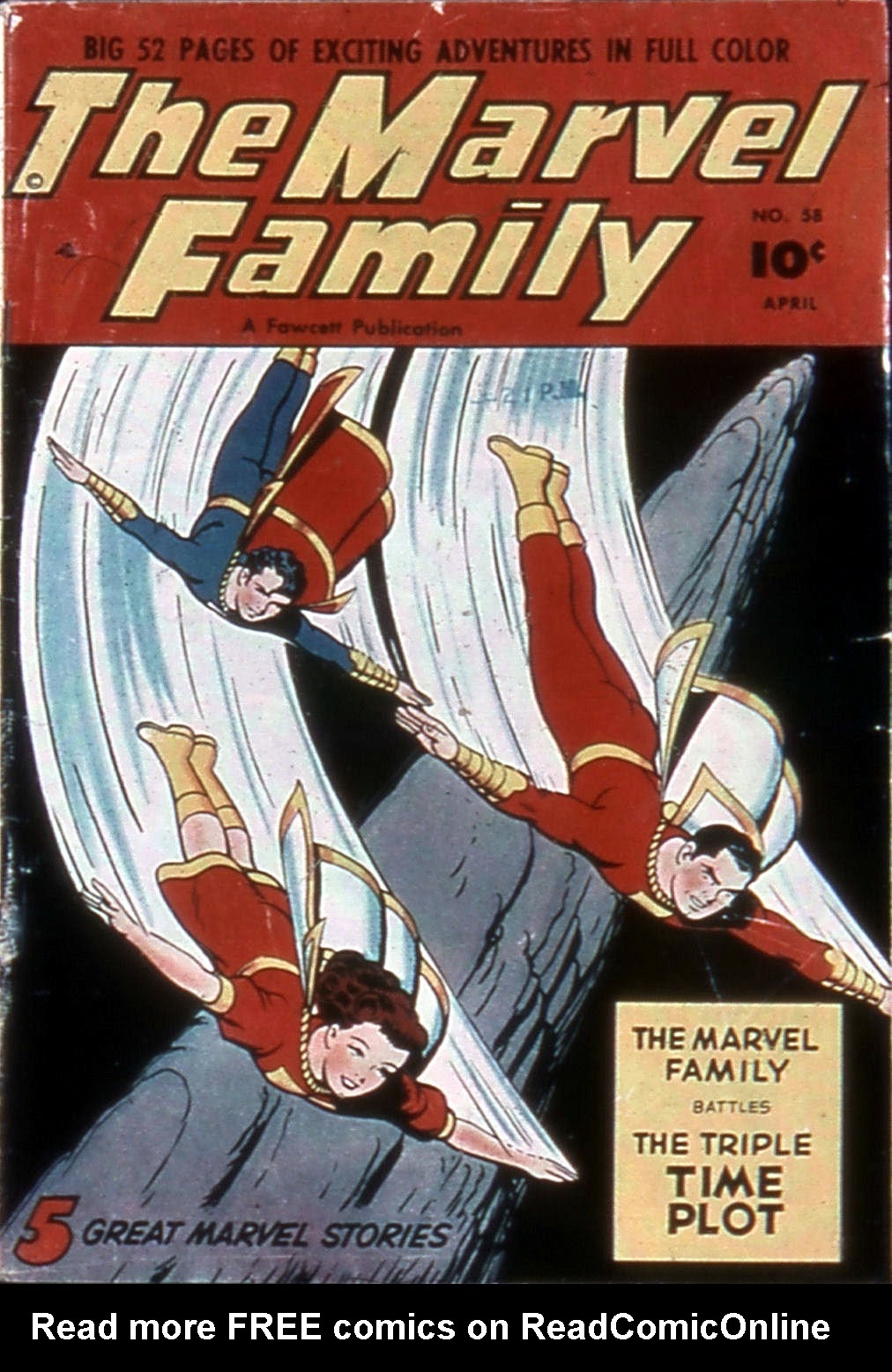 The Marvel Family 58 Page 1