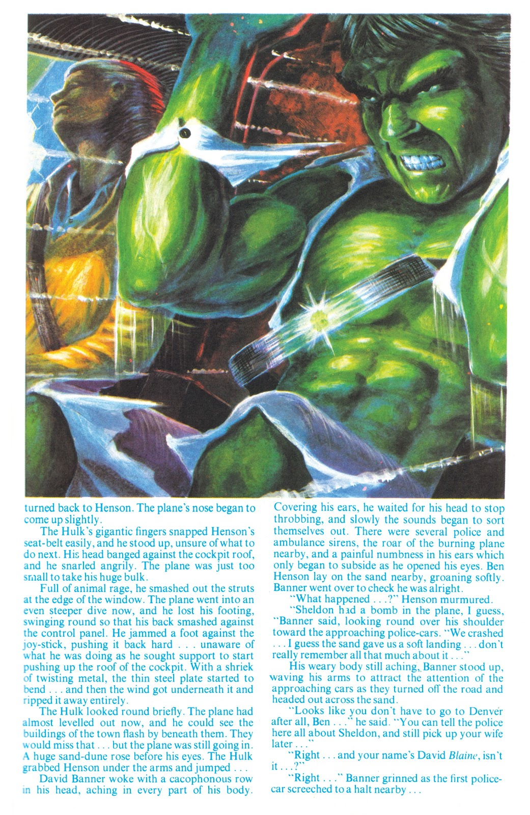 Read online Hulk: From The Marvel UK Vaults comic -  Issue # TPB (Part 2) - 21