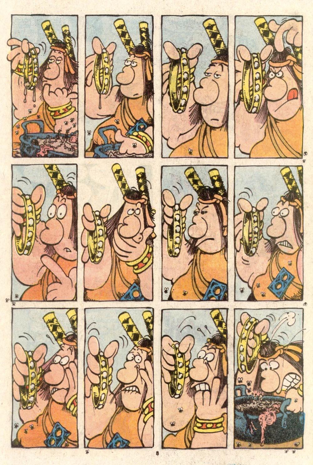 Read online Sergio Aragonés Groo the Wanderer comic -  Issue #38 - 8