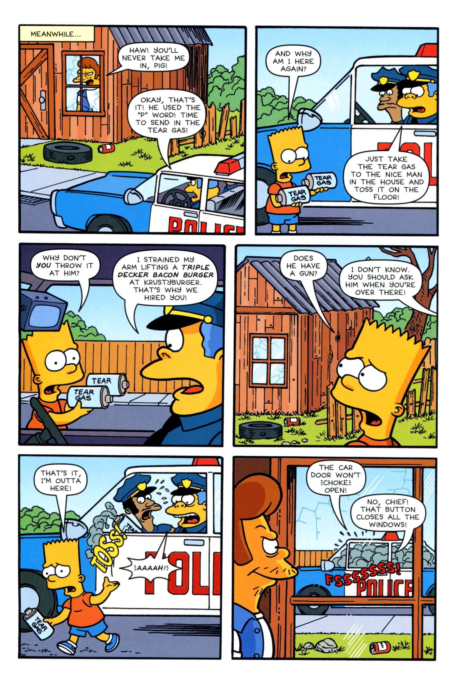 Read online Simpsons Comics comic -  Issue #202 - 20