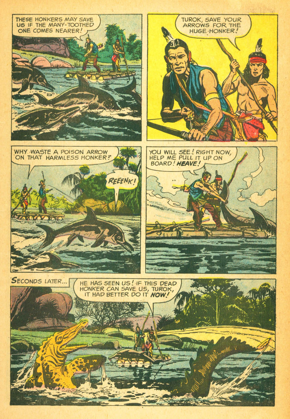 Read online Turok, Son of Stone comic -  Issue #27 - 7