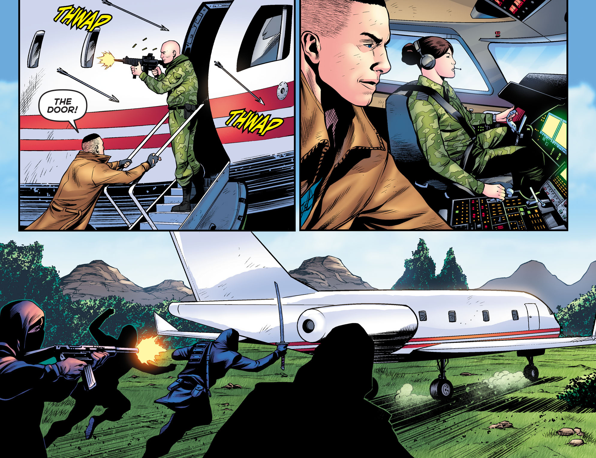 Read online Arrow: The Dark Archer comic -  Issue #9 - 10