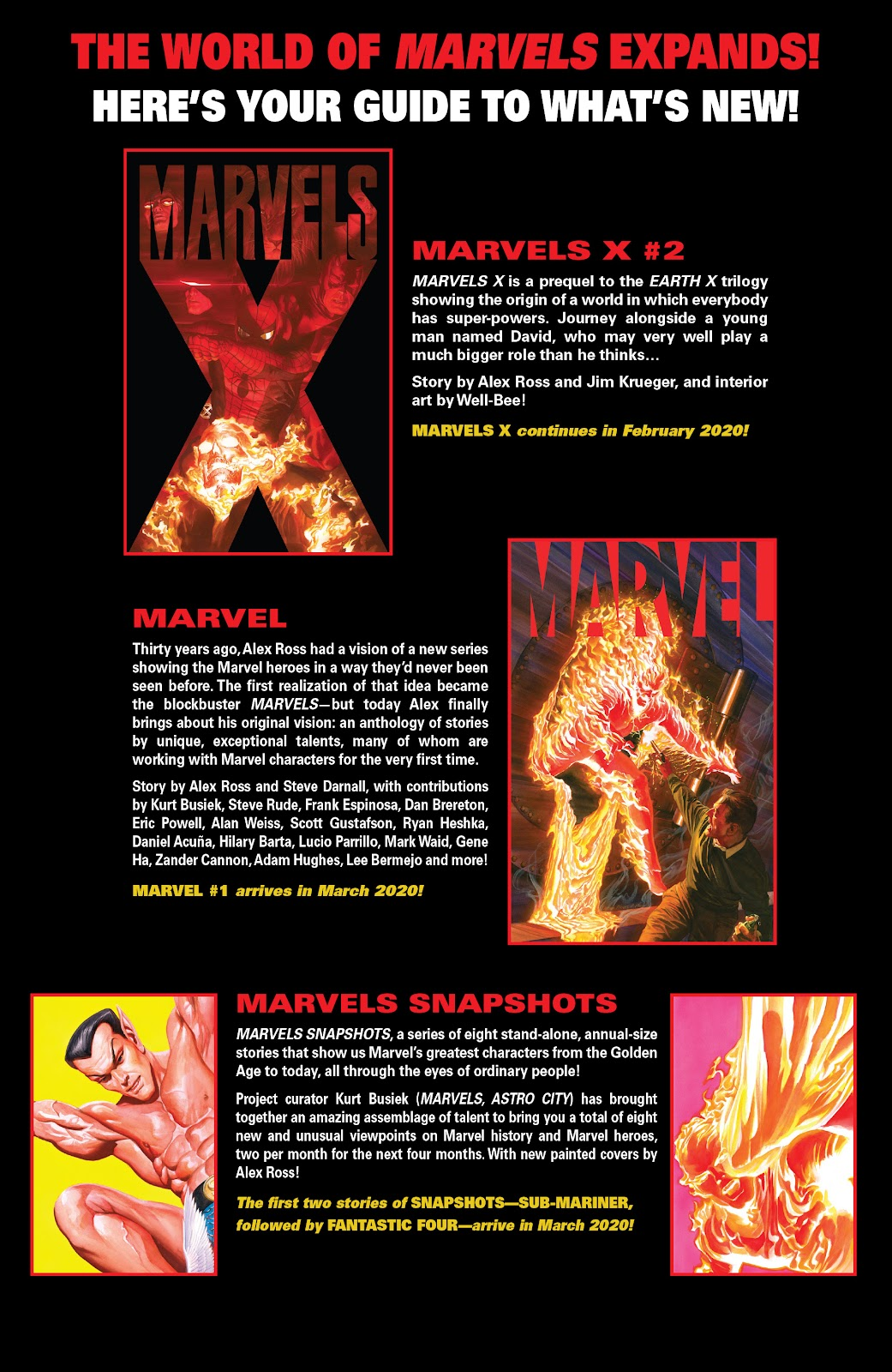 Read online Marvels X comic -  Issue #1 - 24