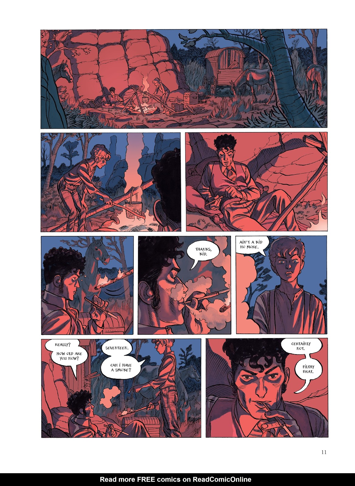 Read online The Smell of Starving Boys comic -  Issue # TPB - 12