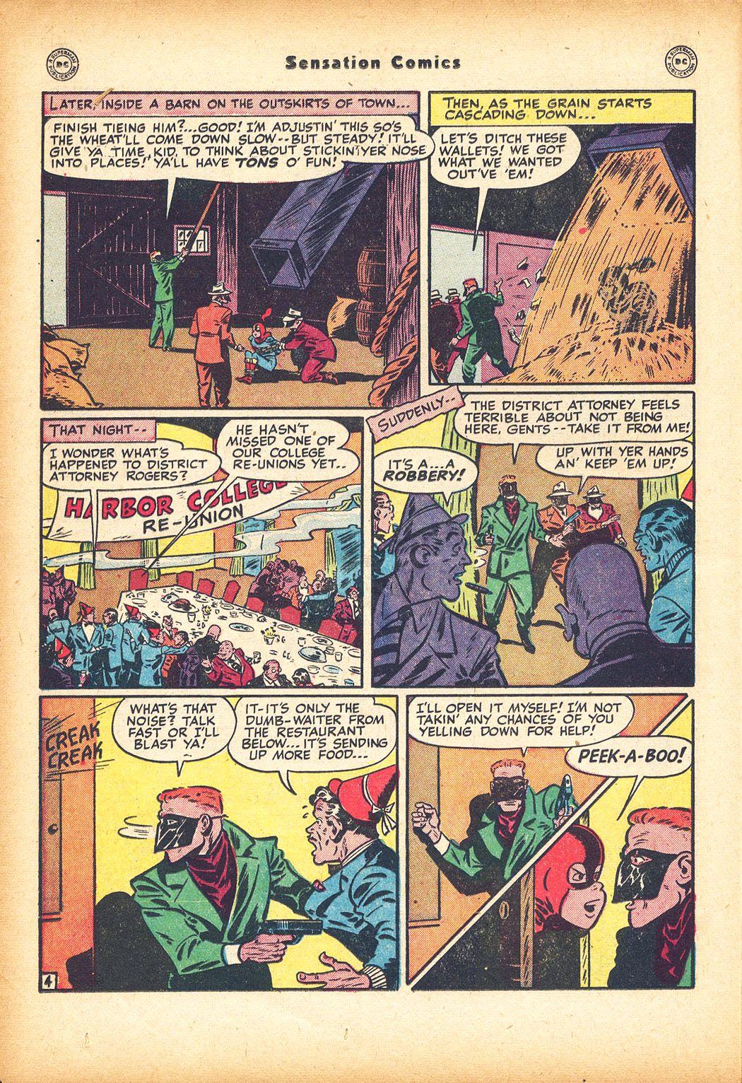 Read online Sensation (Mystery) Comics comic -  Issue #78 - 20