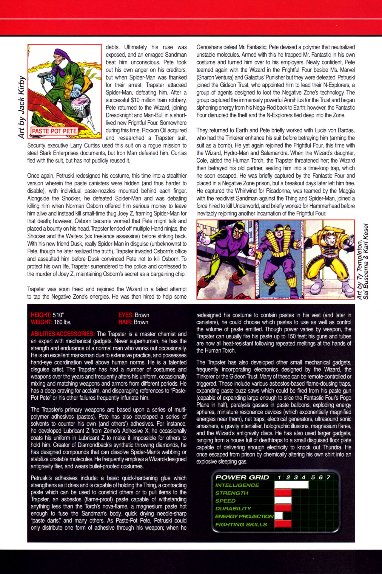 Read online All-New Official Handbook of the Marvel Universe A to Z: Update comic -  Issue #4 - 56