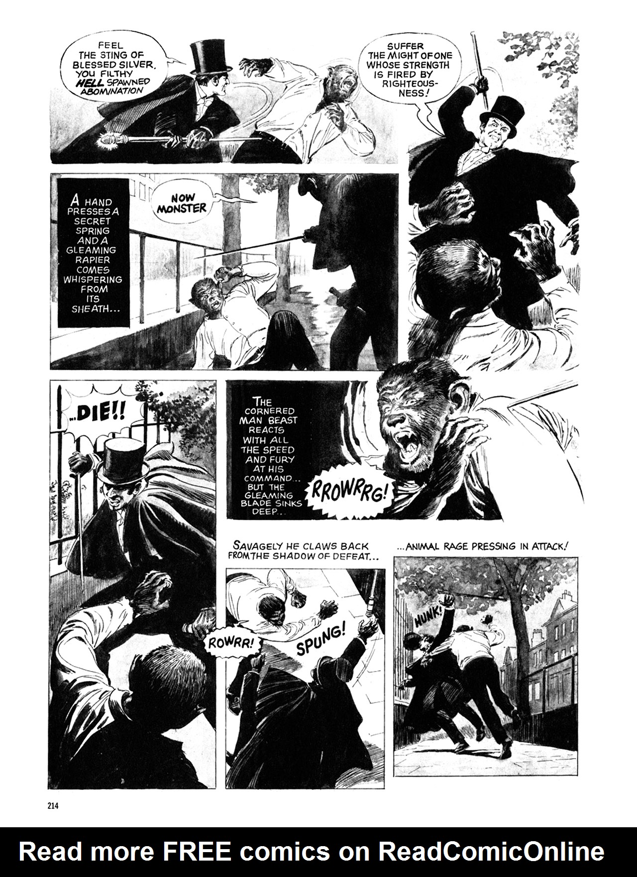 Read online Eerie Archives comic -  Issue # TPB 10 - 215