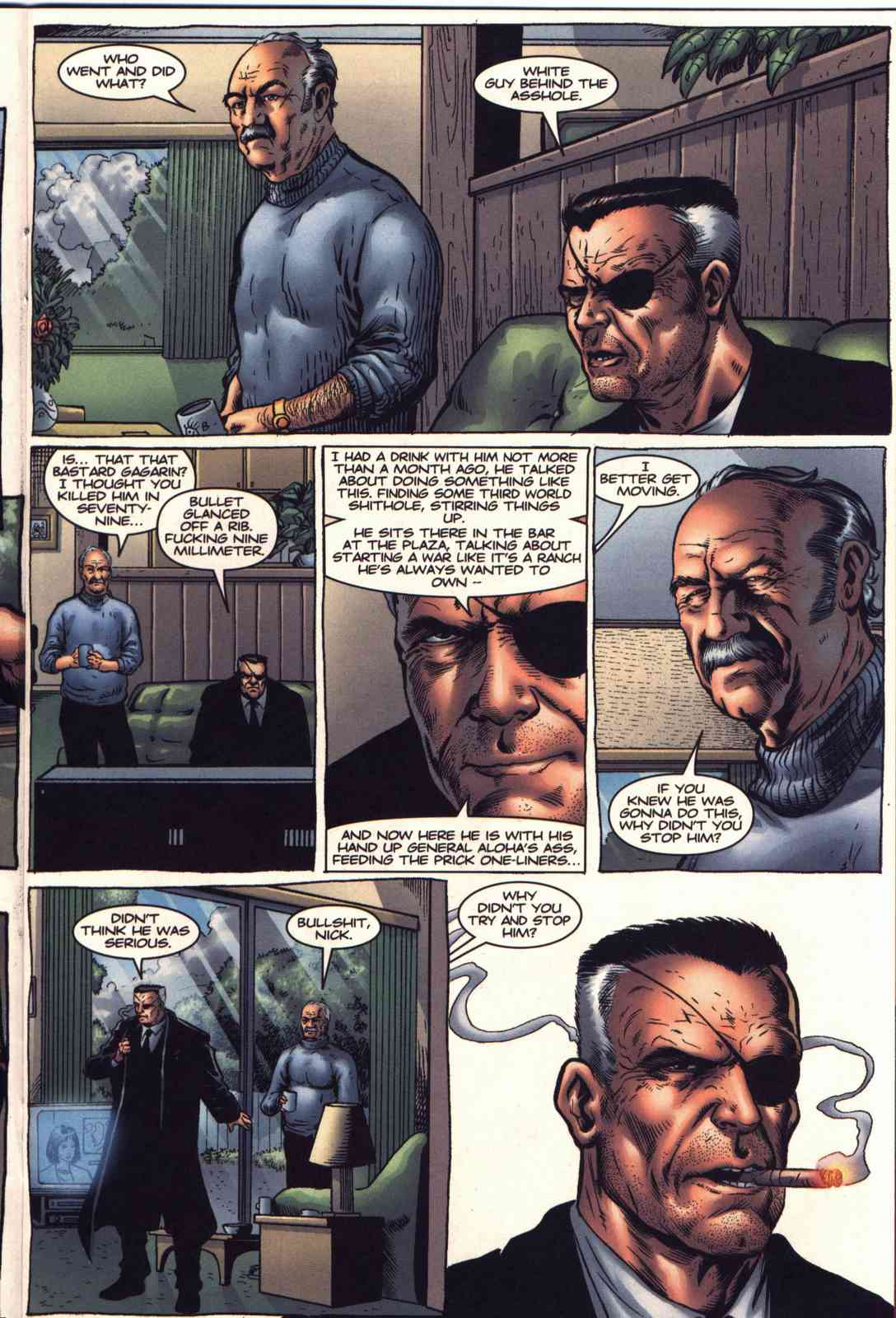 Read online Fury comic -  Issue #2 - 11