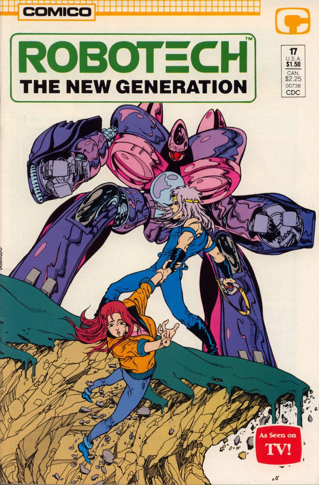Robotech The New Generation issue 17 - Page 1
