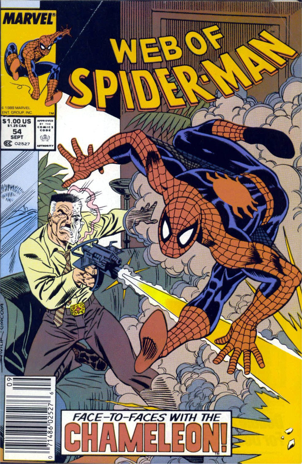 Web of Spider-Man (1985) 54 Page 1