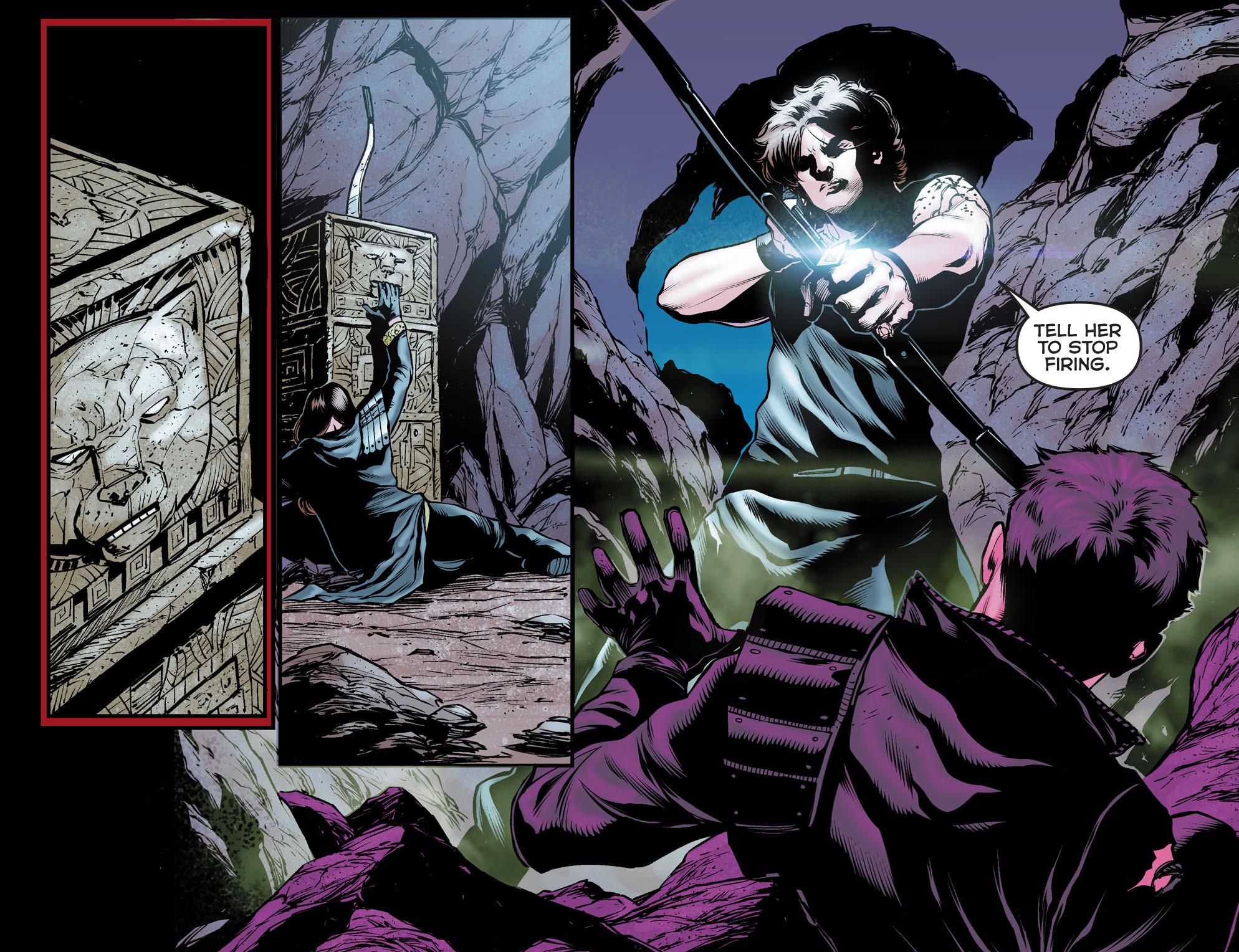 Read online Arrow: The Dark Archer comic -  Issue #12 - 4