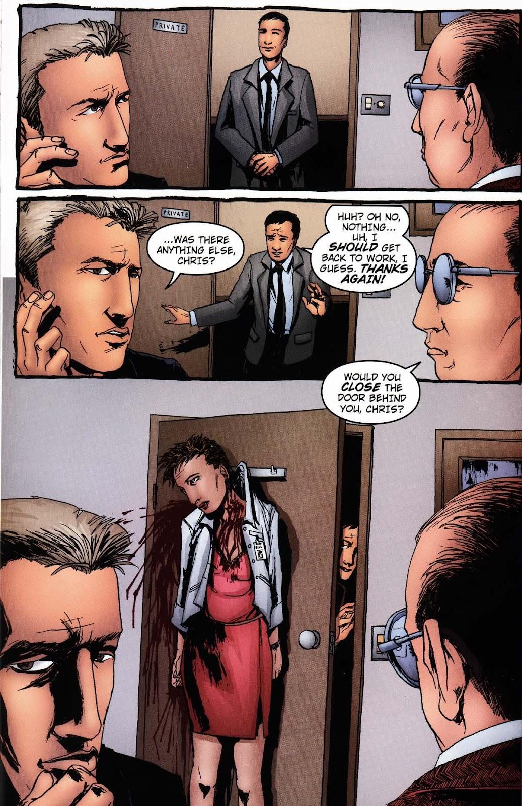 Read online Vampire the Masquerade comic -  Issue # Ventrue - 37