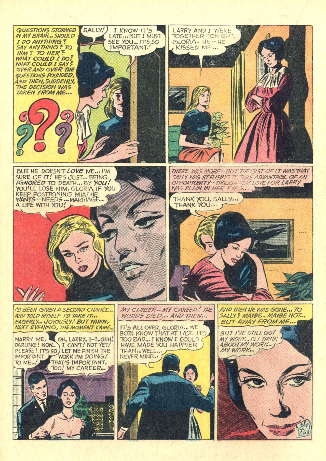 Read online Secret Hearts comic -  Issue #116 - 16