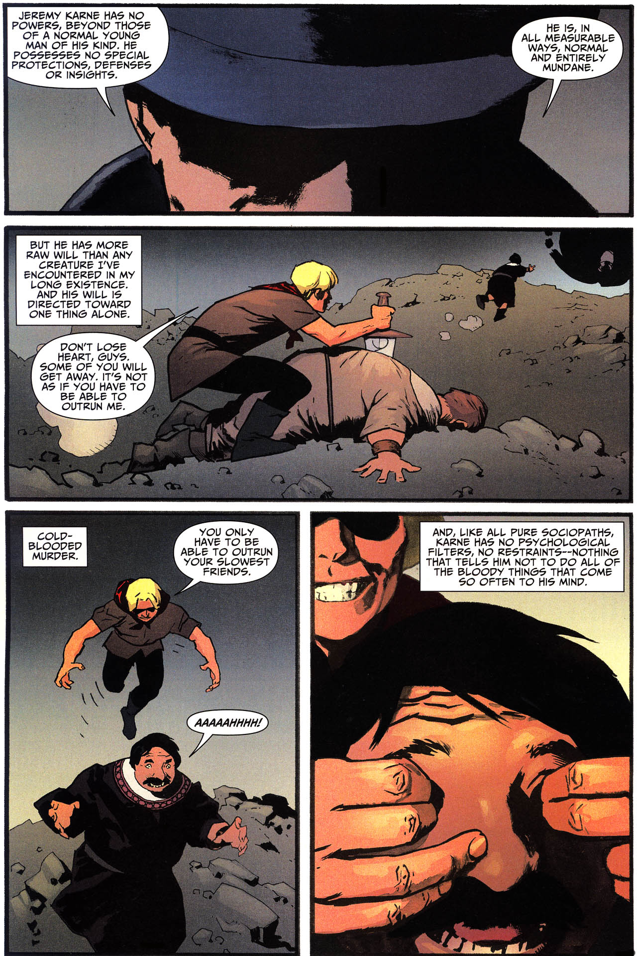 Read online Shadowpact comic -  Issue #13 - 9