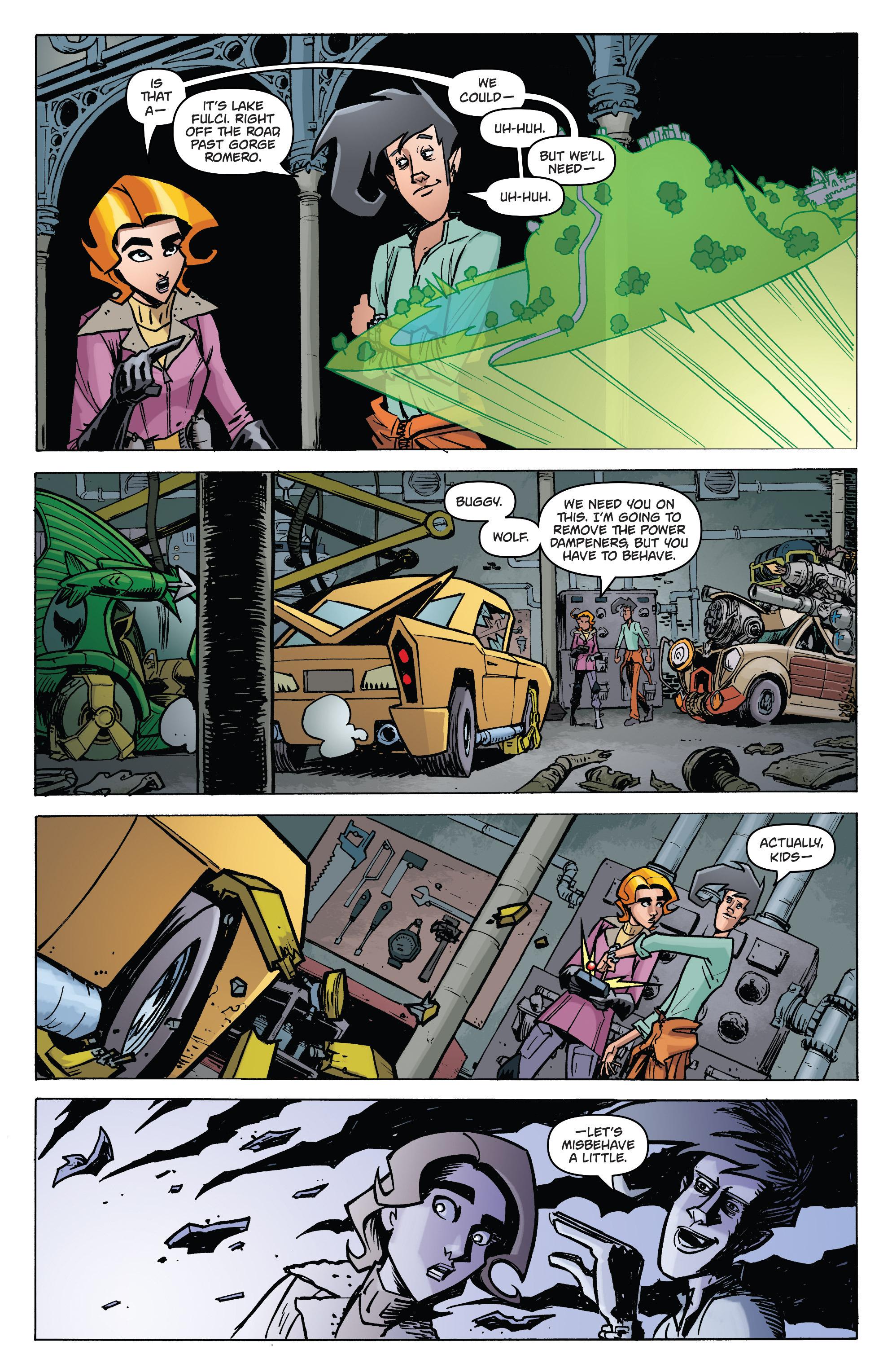 Read online Monster Motors: The Curse of Minivan Helsing comic -  Issue #2 - 15