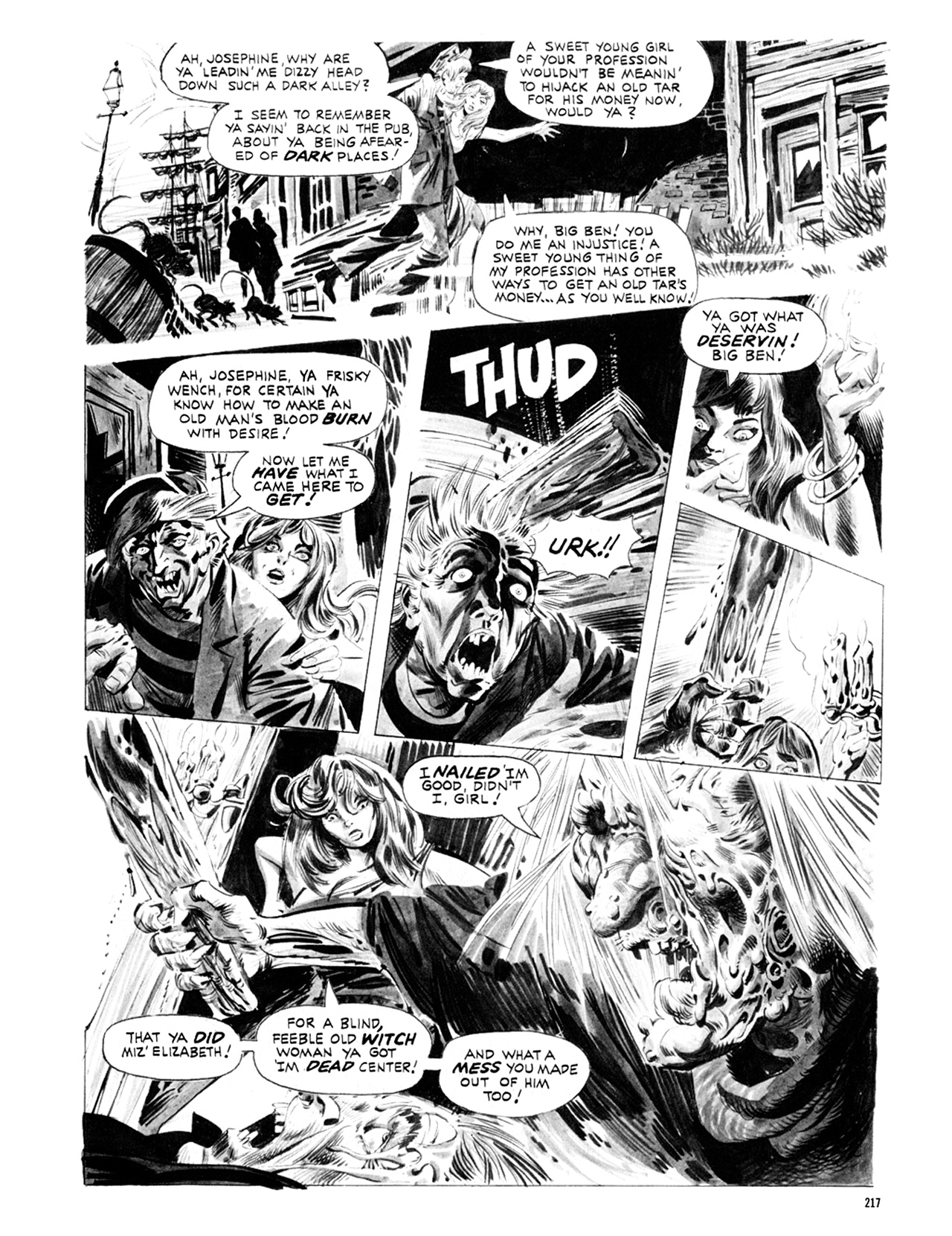Read online Eerie Archives comic -  Issue # TPB 9 - 218