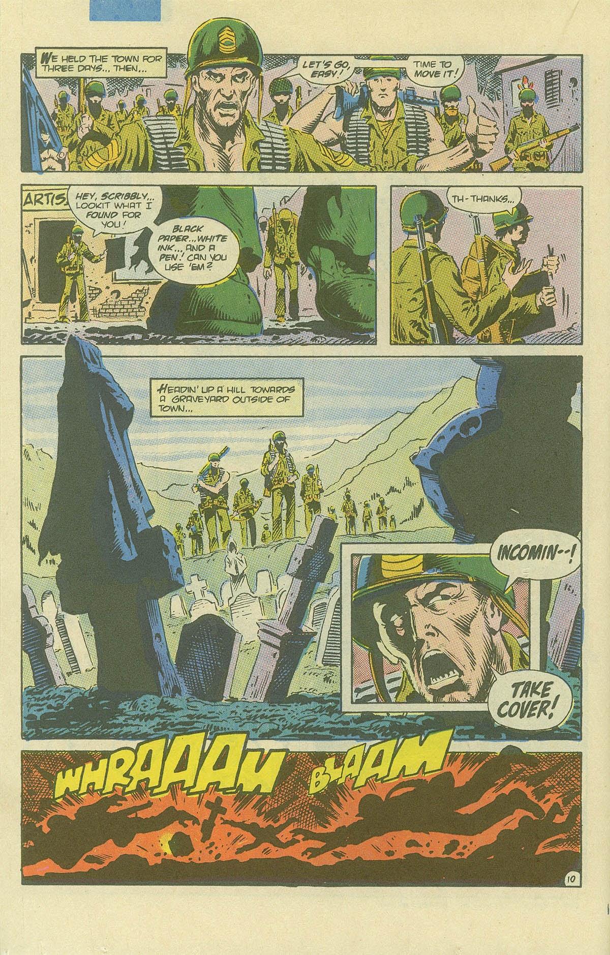 Read online Sgt. Rock comic -  Issue #408 - 15