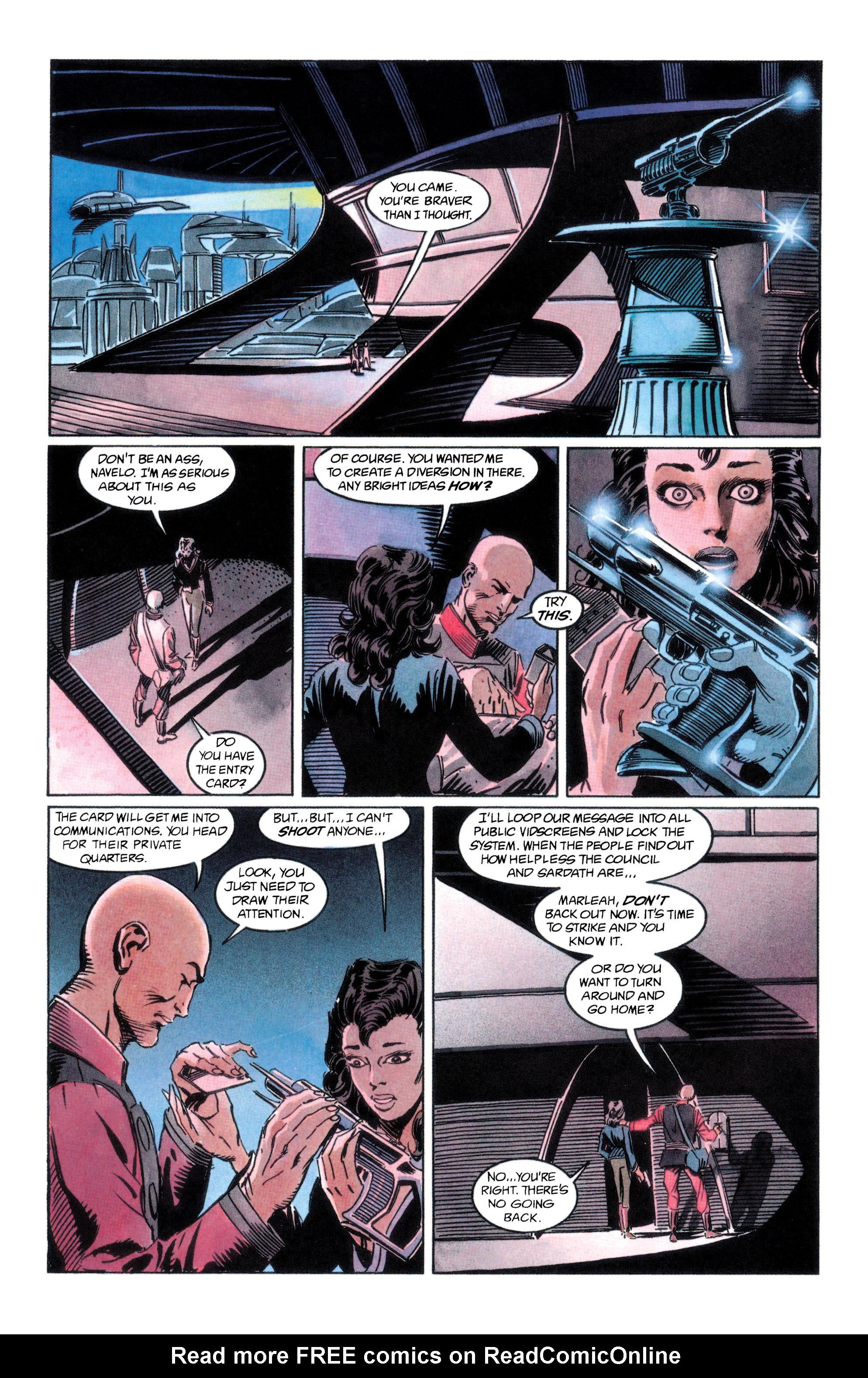 Read online Adam Strange (1990) comic -  Issue #2 - 28