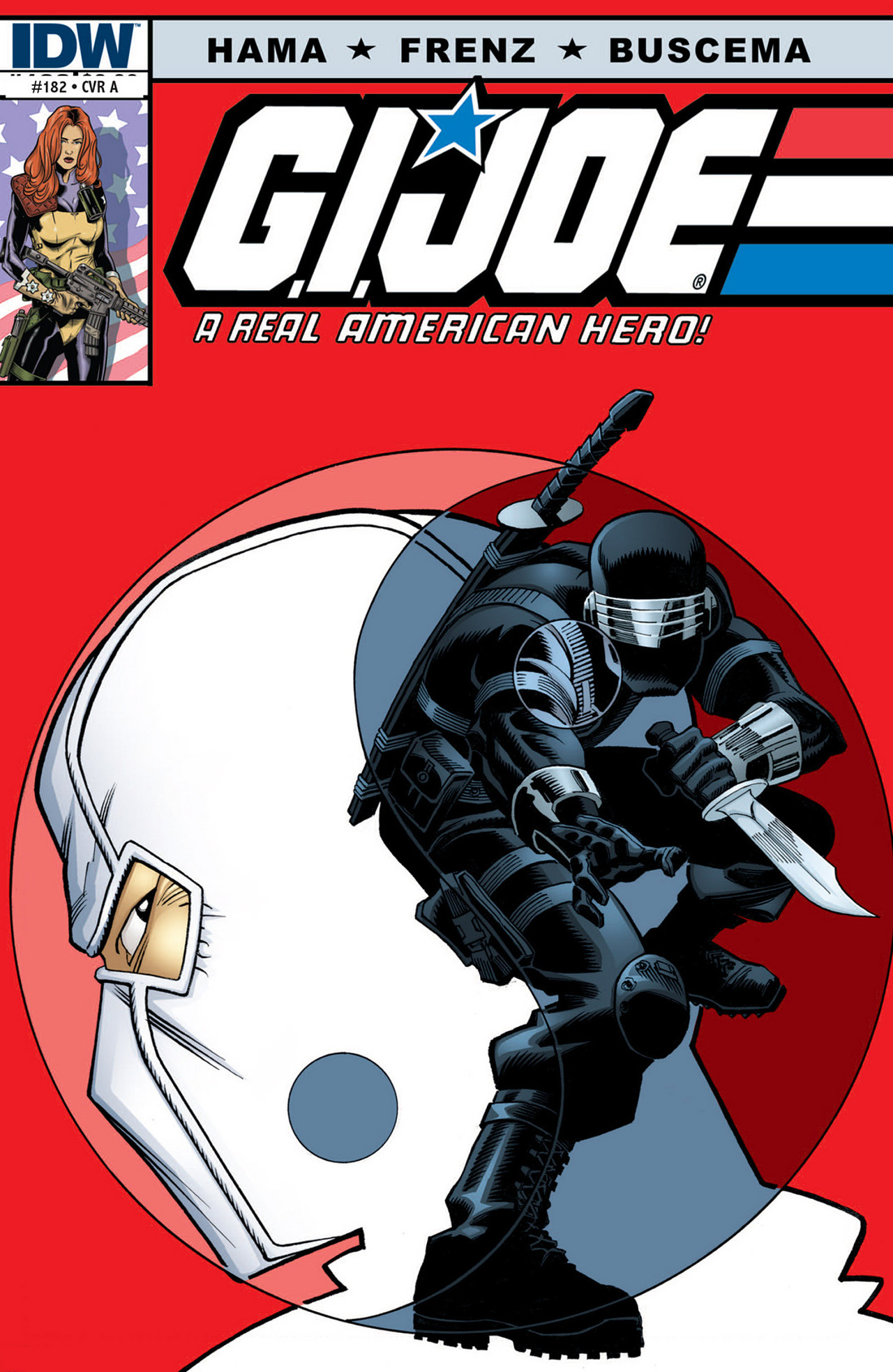 G.I. Joe: A Real American Hero 182 Page 1